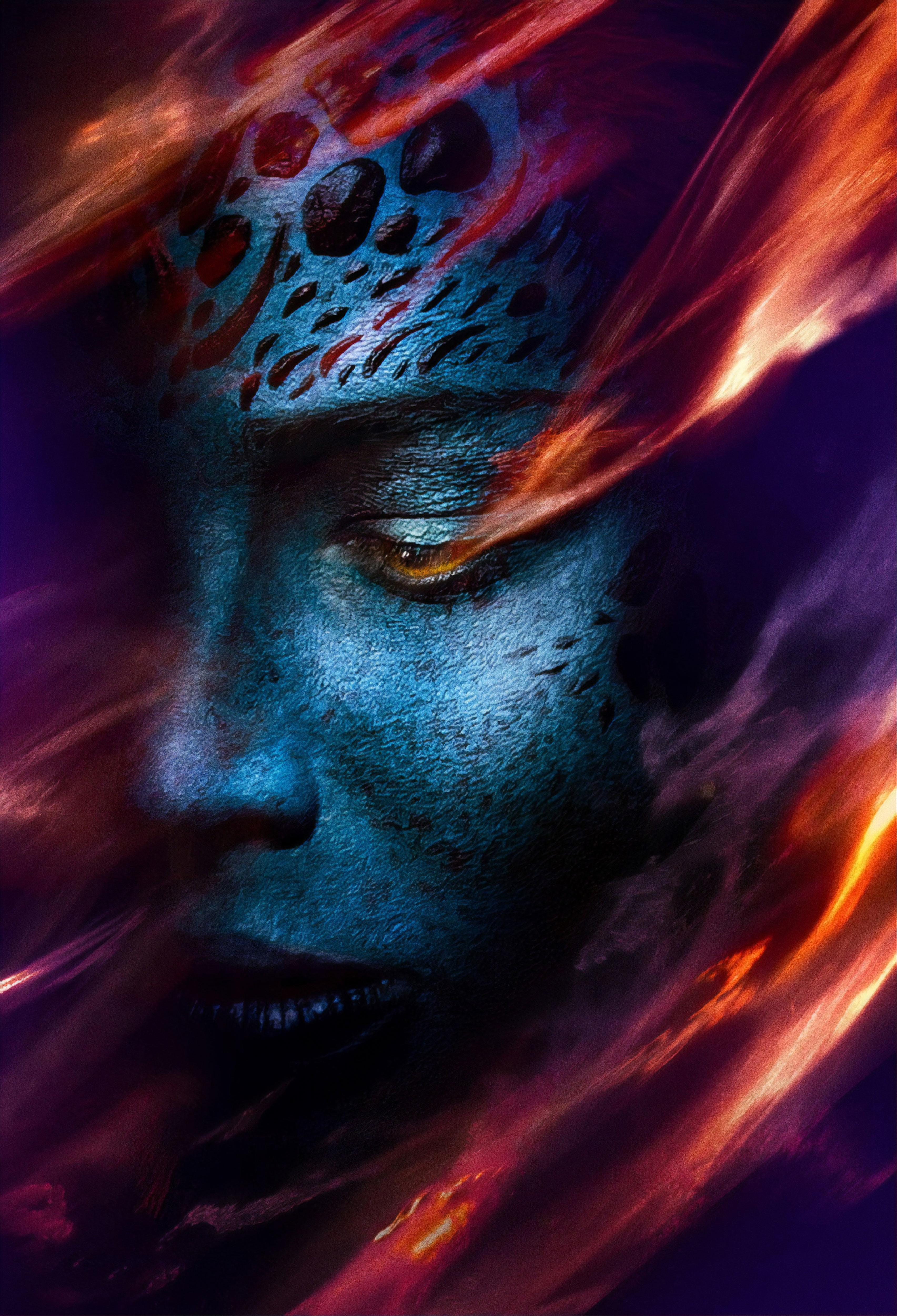 Jennifer Lawrence As Mystique X Men Dark Phoenix Wallpaper