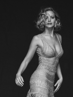 Jennifer lawrence black and white full hd 2k wallpaper old mobile cell phone smartphone 240x320 voltagebd Image collections