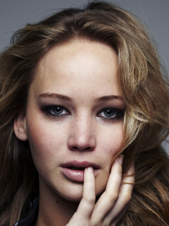 Jennifer lawrence new hair cut full hd wallpaper old mobile cell phone smartphone 240x320 voltagebd Image collections