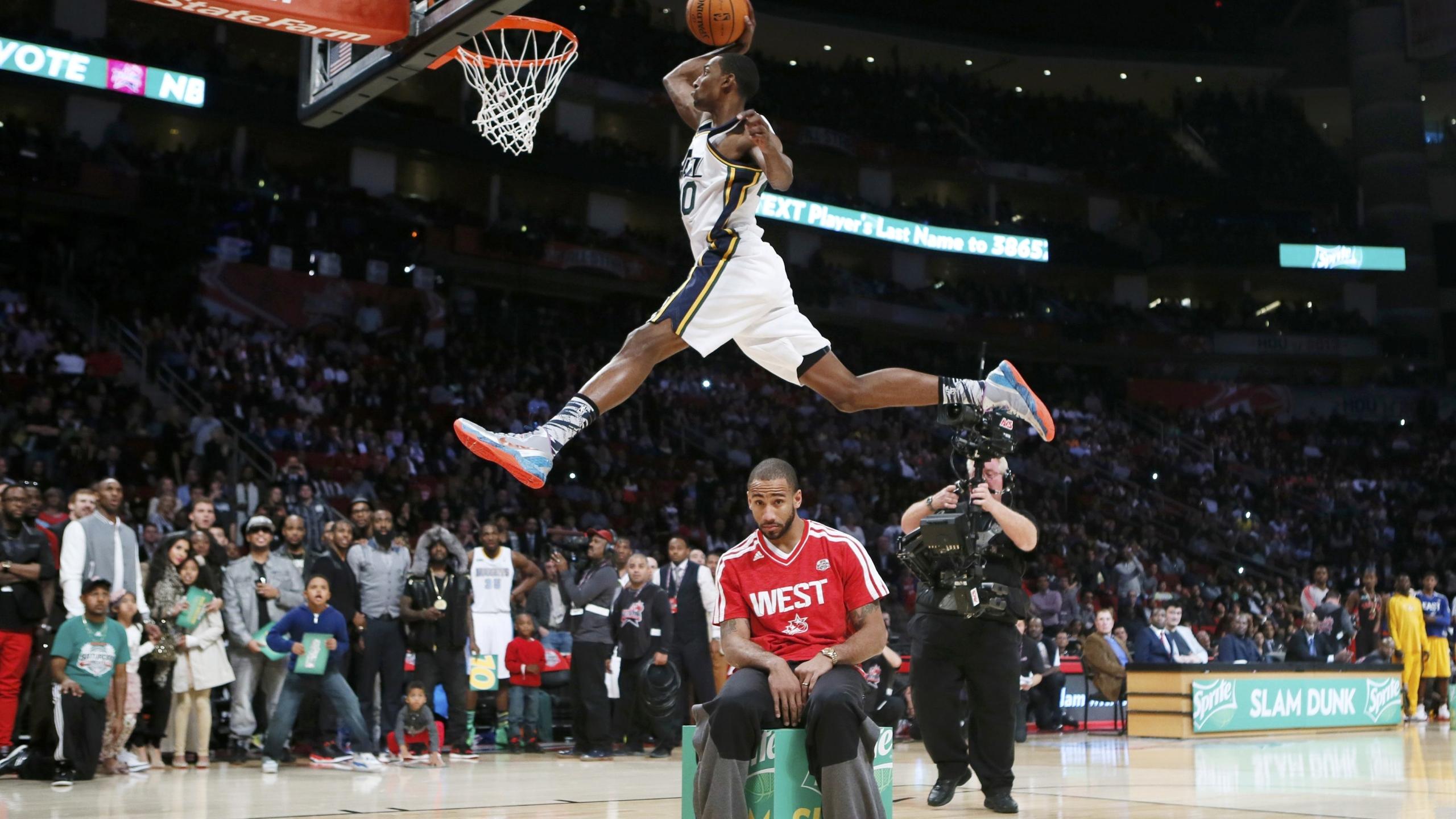 2560x1440 jeremy evans, basketball player, nba 1440P ...