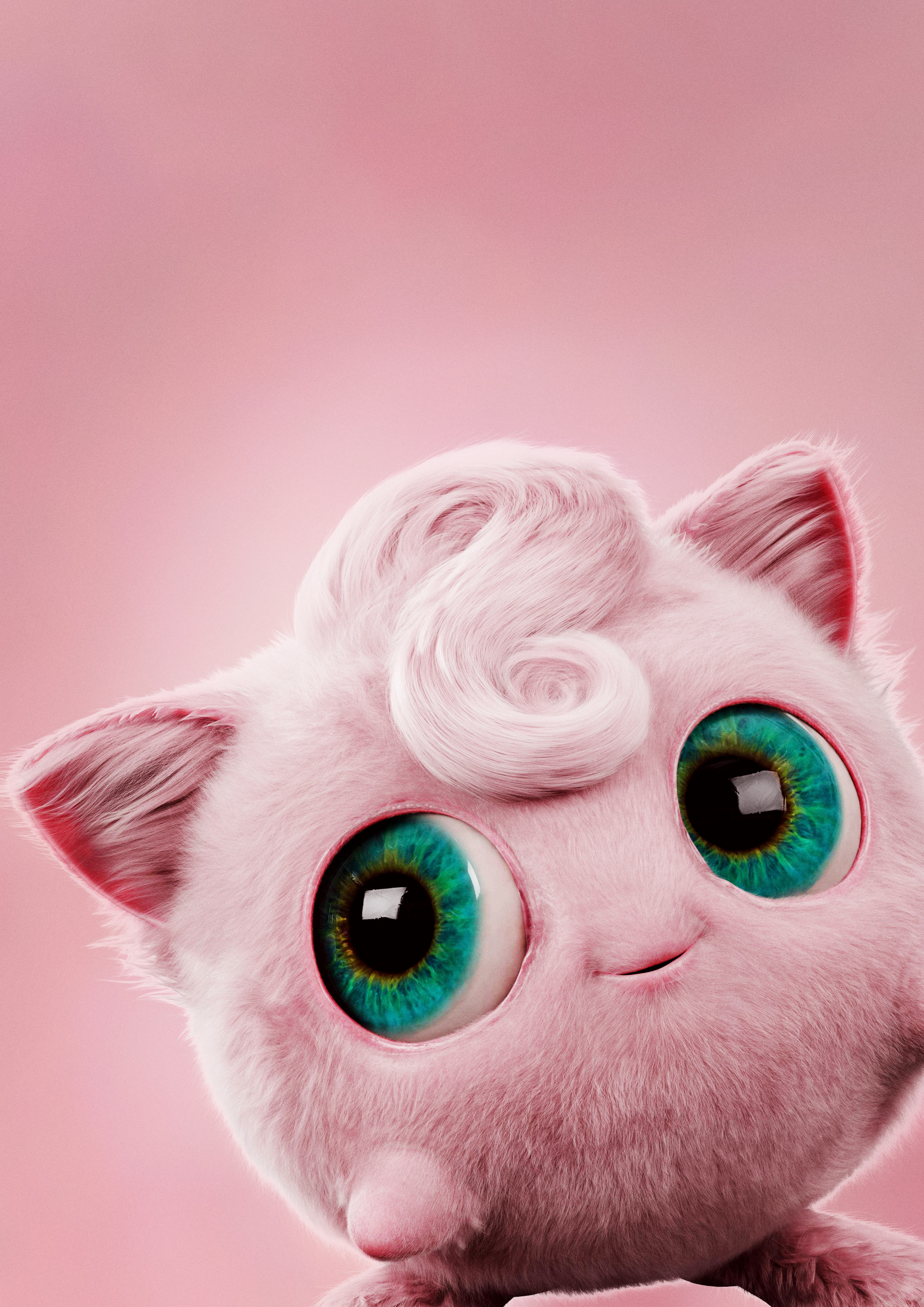 Jigglypuff In Pokemon Detective Pikachu Movie Wallpaper Hd Movies