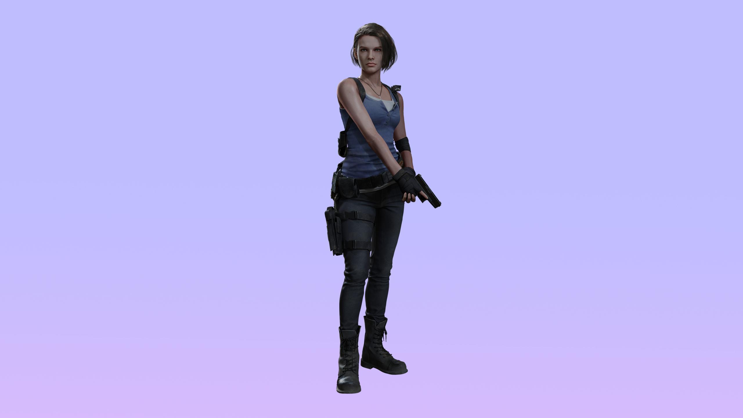 2560x1440 Jill Valentine Resident Evil 3 Remake 4k 1440p