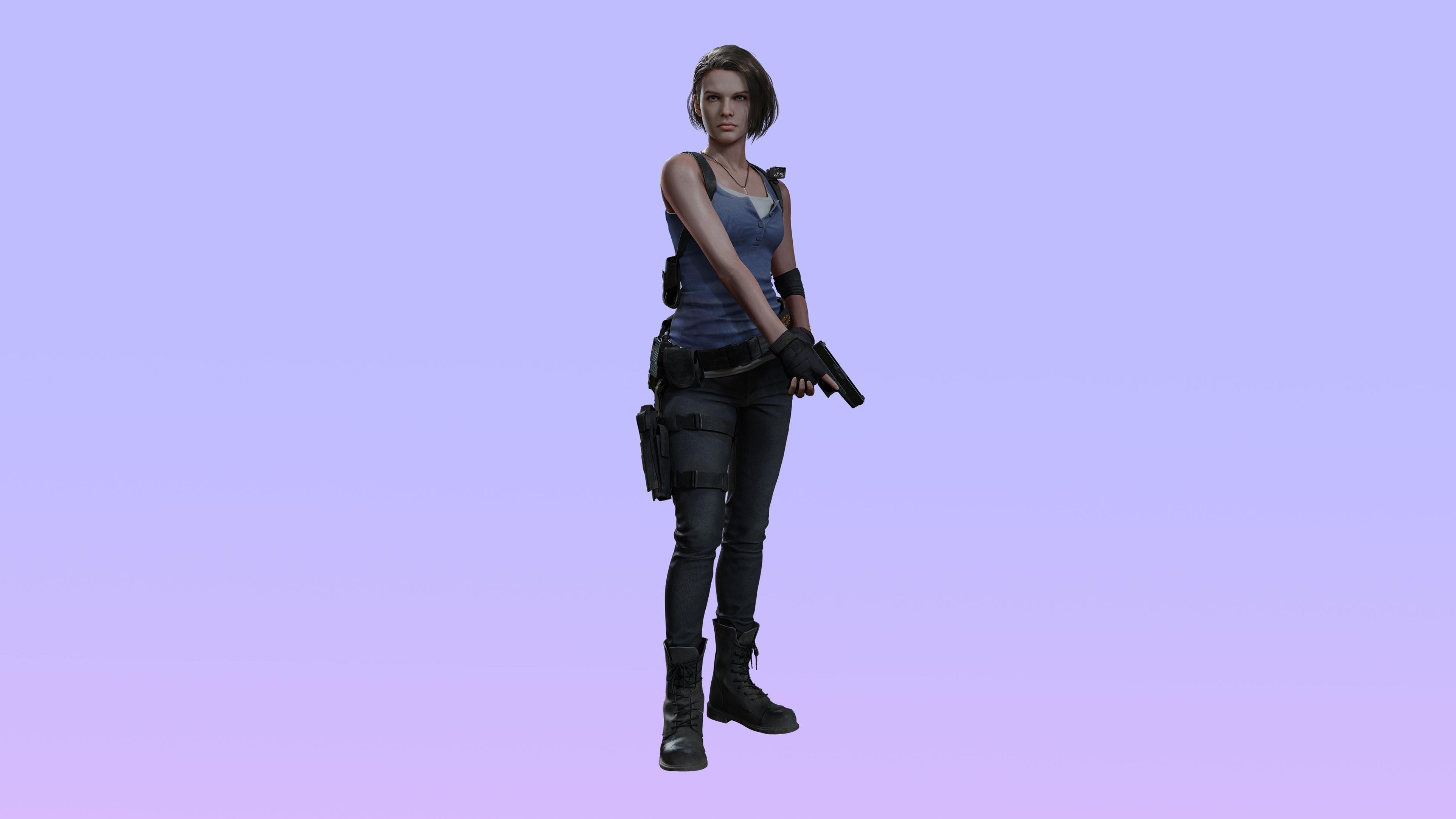 Jill Valentine Resident Evil 3 Remake 4k Wallpaper Hd Games 4k