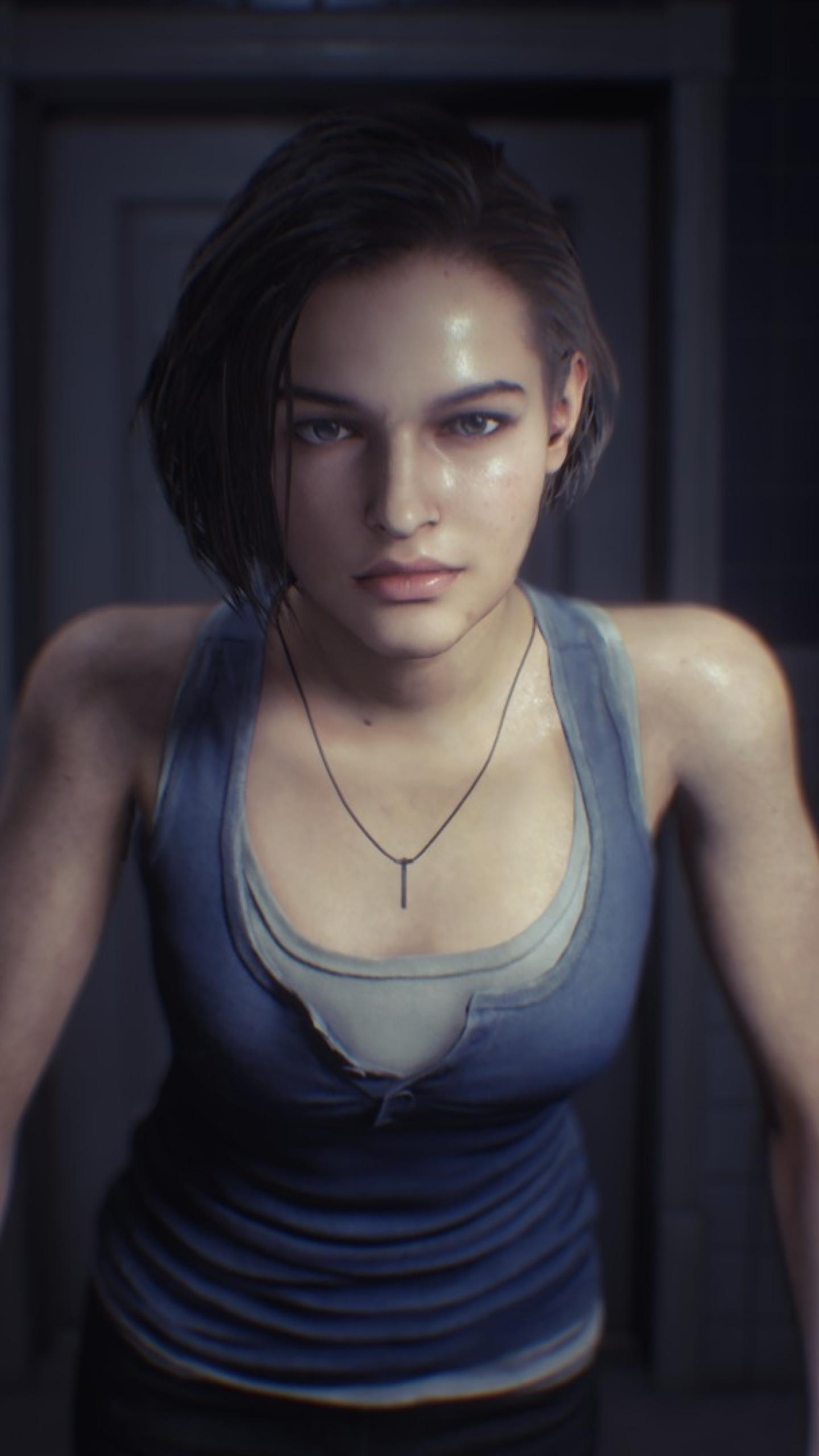 1440x2560 Jill Valentine Resident Evil 3 Remake Samsung Galaxy S6