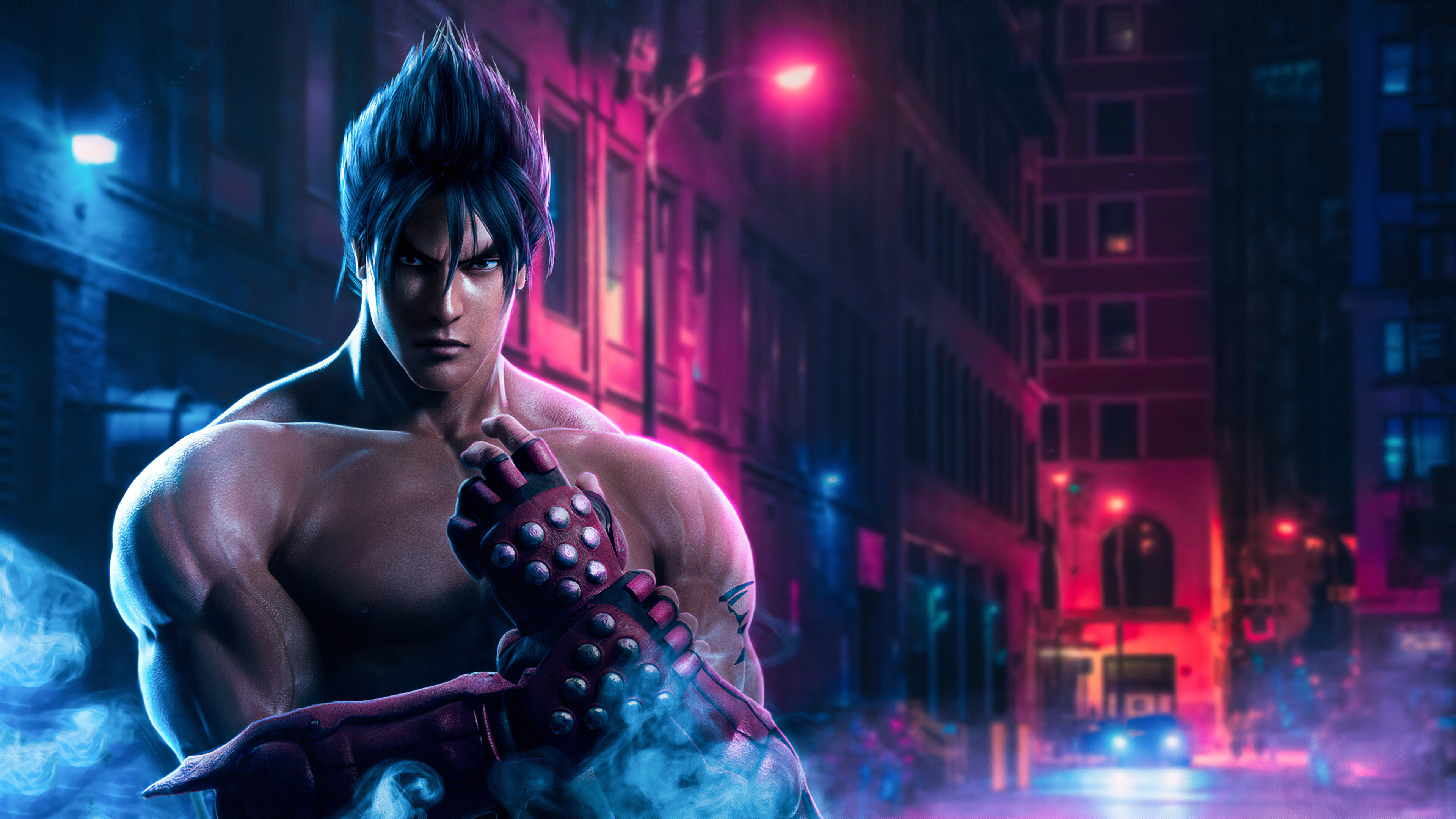320x480 Jin Kazama Tekken 7 Apple Iphone Ipod Touch Galaxy Ace Wallpaper Hd Games 4k Wallpapers Images Photos And Background