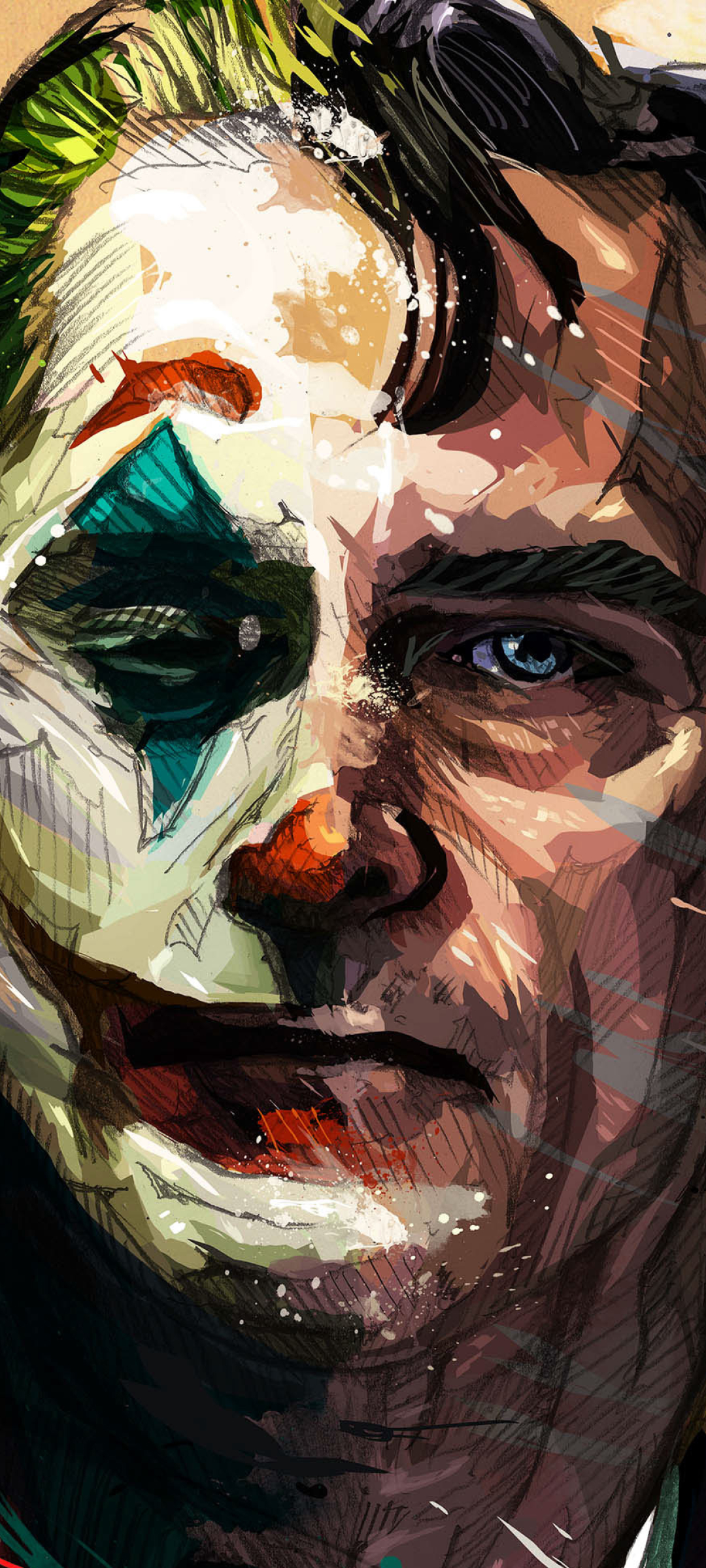 1080x2400 Joaquin Phoenix Joker Artistic 1080x2400 Resolution