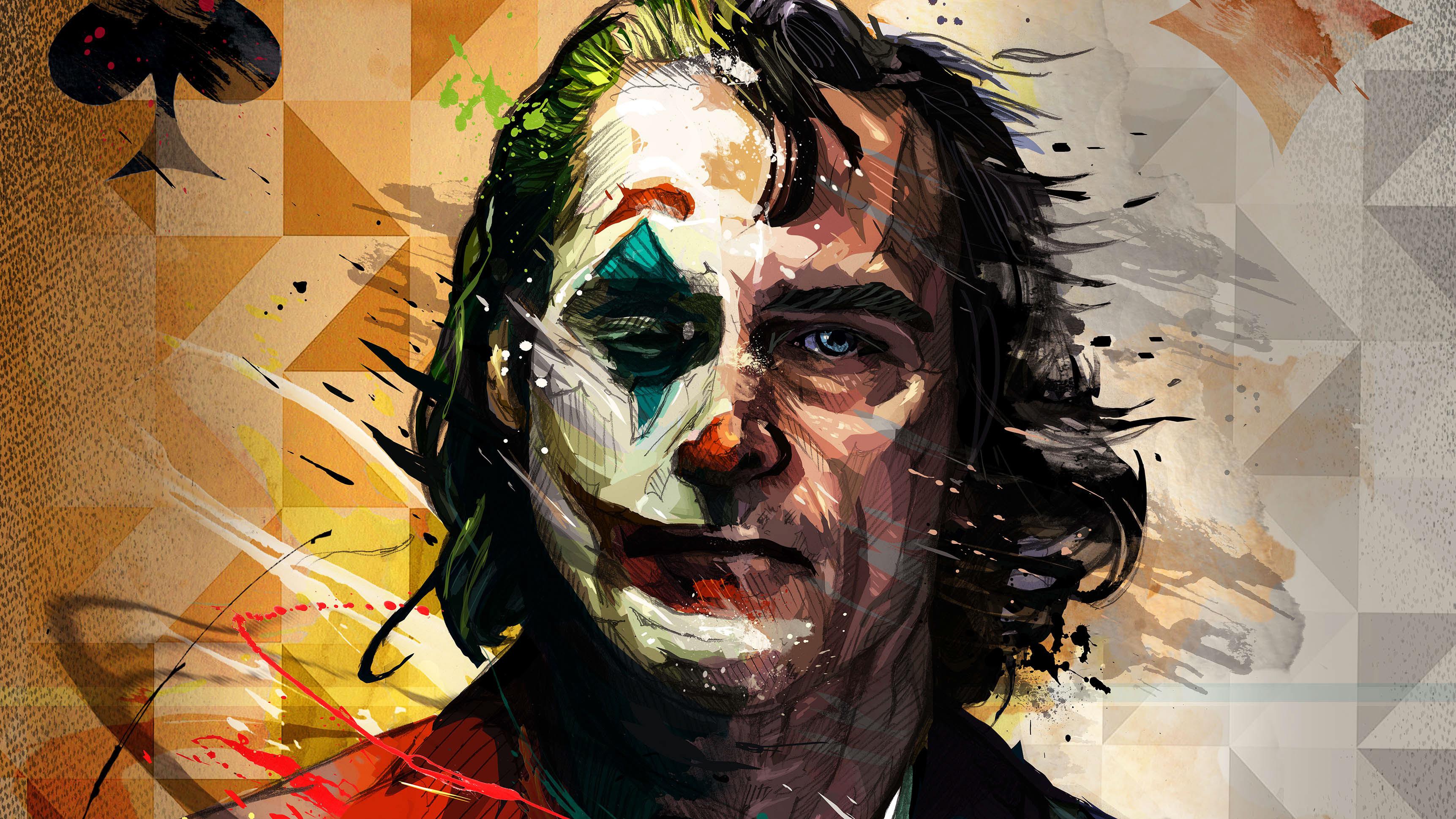 1080x2400 Joaquin Phoenix Joker Artistic 1080x2400