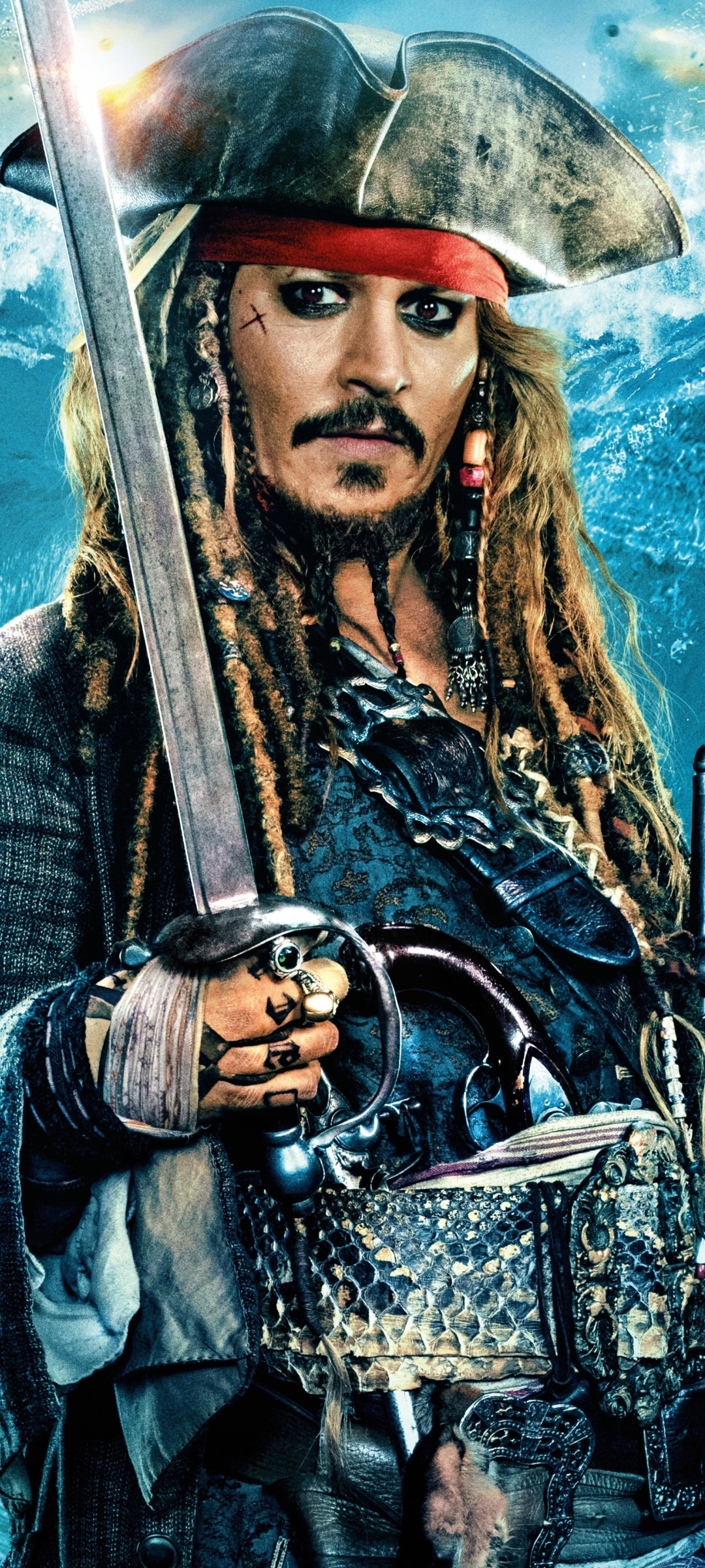 1080x2400 Johnny Depp As Jack Sparrow In Pirates Of The Caribbean Dead Men Tell No Tales 1080x2400 Resolution Wallpaper Hd Movies 4k Wallpapers Images Photos And Background