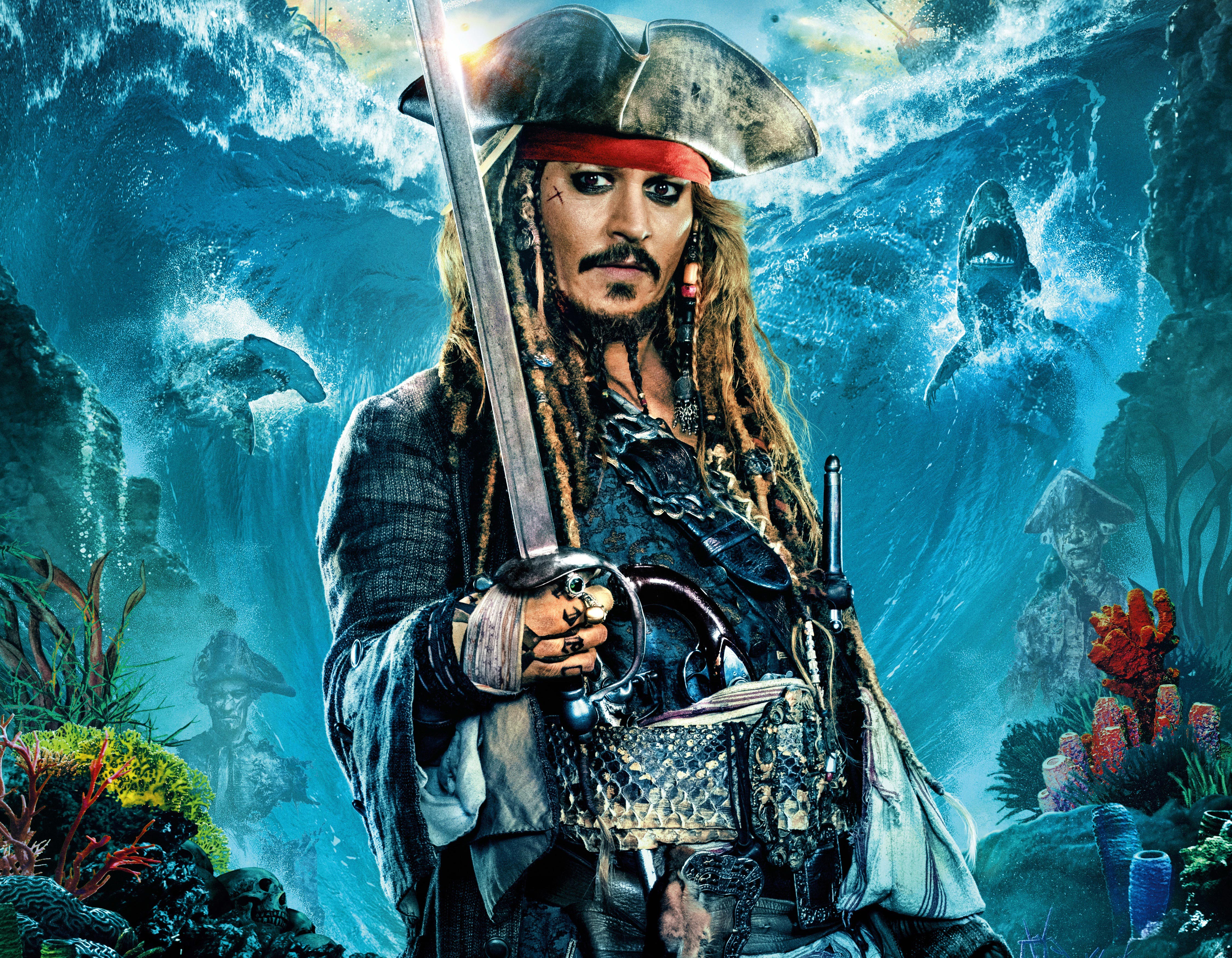 1125x2436 Johnny Depp As Jack Sparrow In Pirates Of The Caribbean
