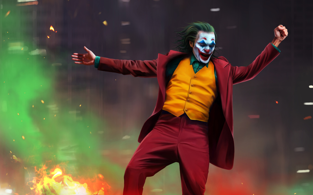 1280x800 Joker 2019 Artwork 1280x800 Resolution Wallpaper ...