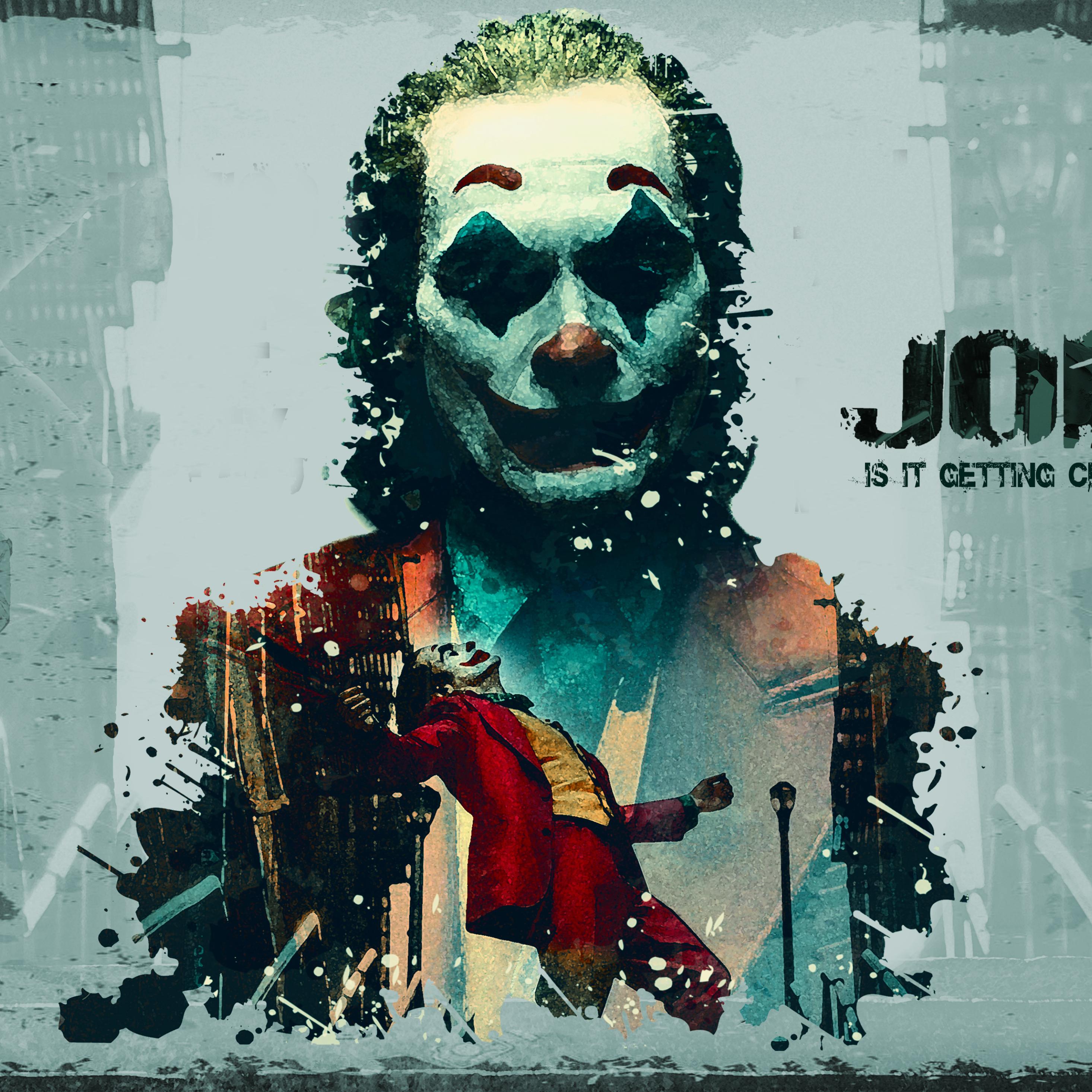 2932x2932 Joker 2019 Movie Ipad Pro Retina Display ...