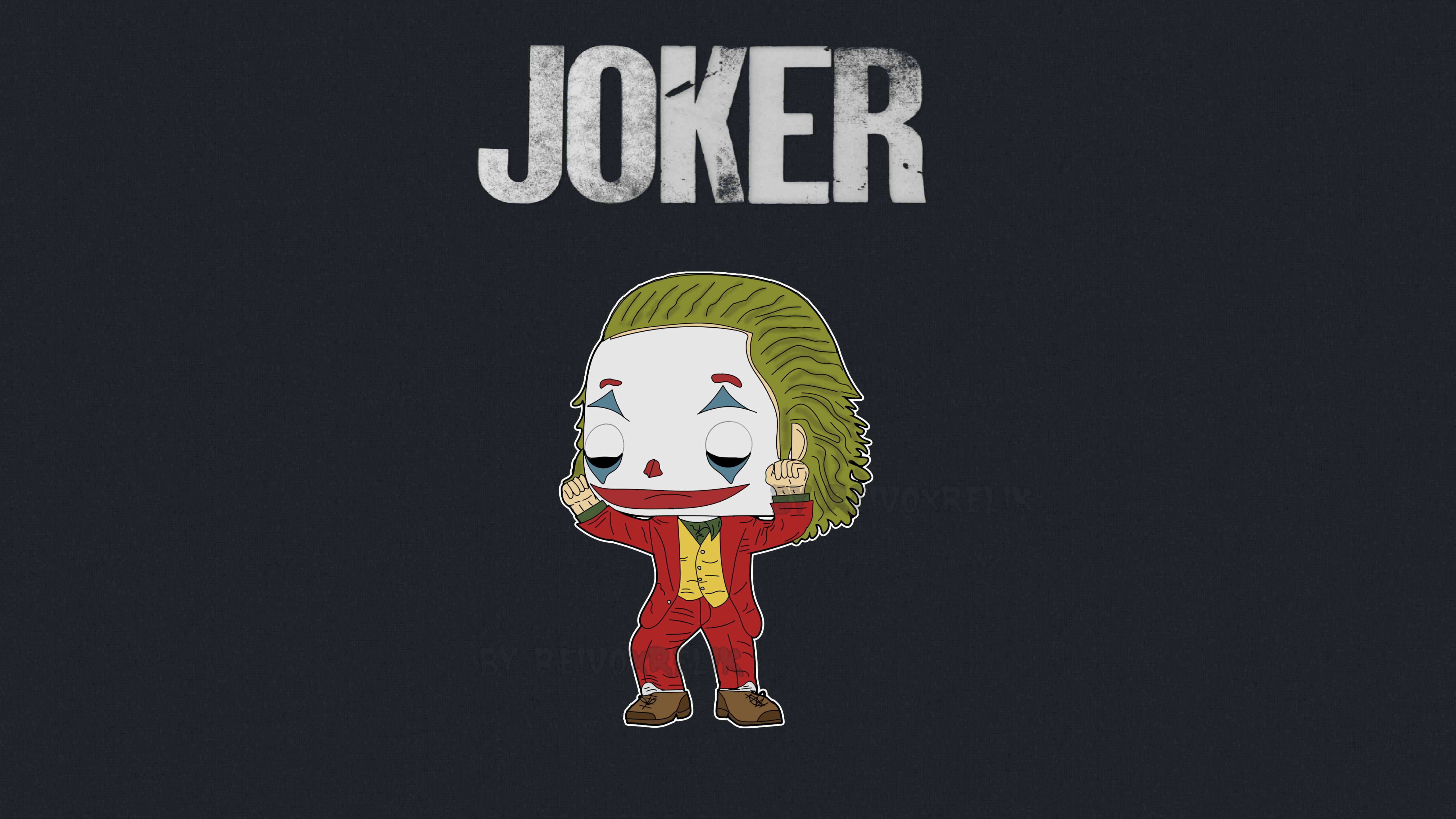 5120x2880 Joker Cartoon Art 5k Wallpaper Hd Superheroes 4k