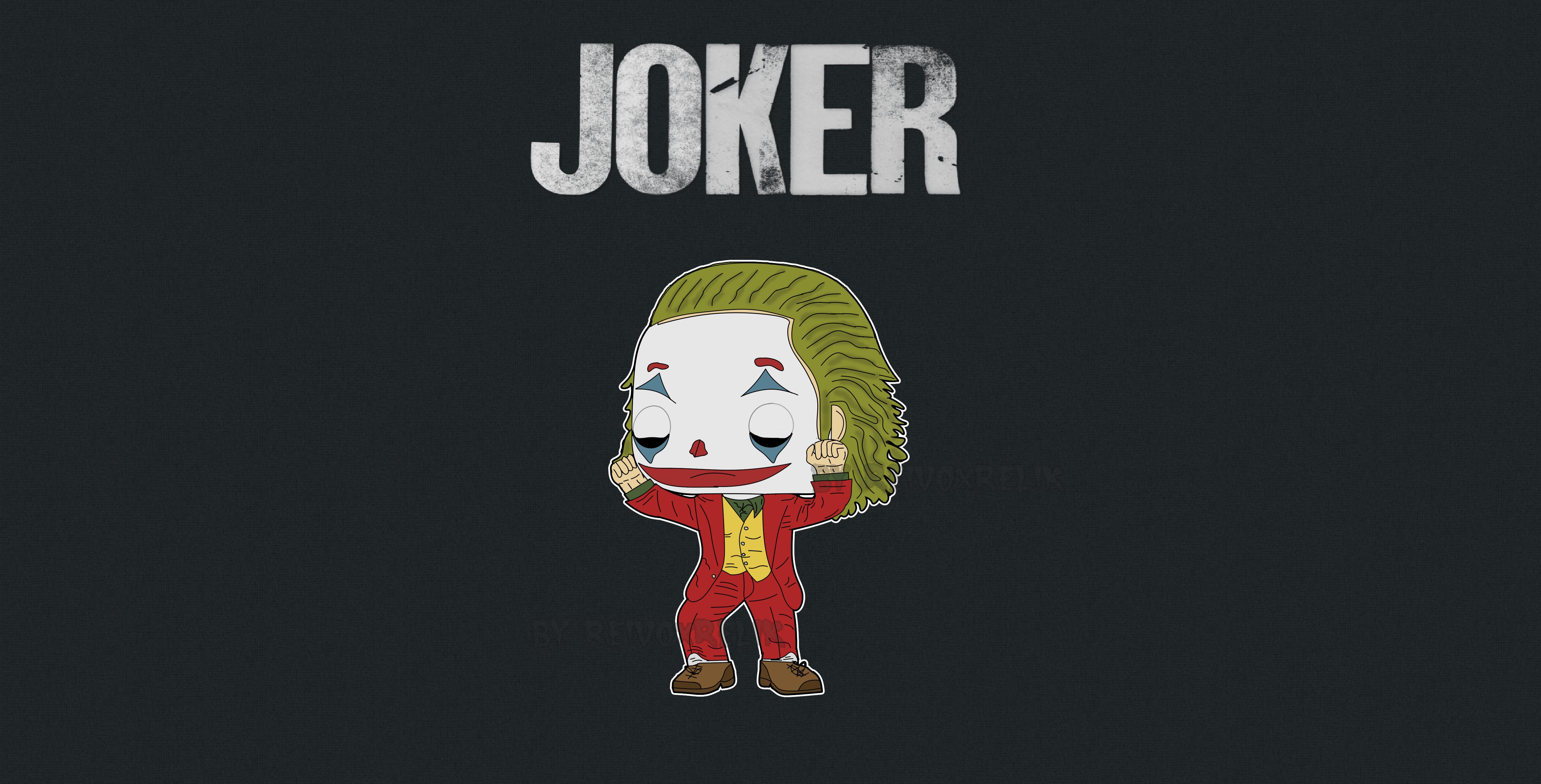 2560x1600 Joker Cartoon Art 2560x1600 Resolution Wallpaper Hd