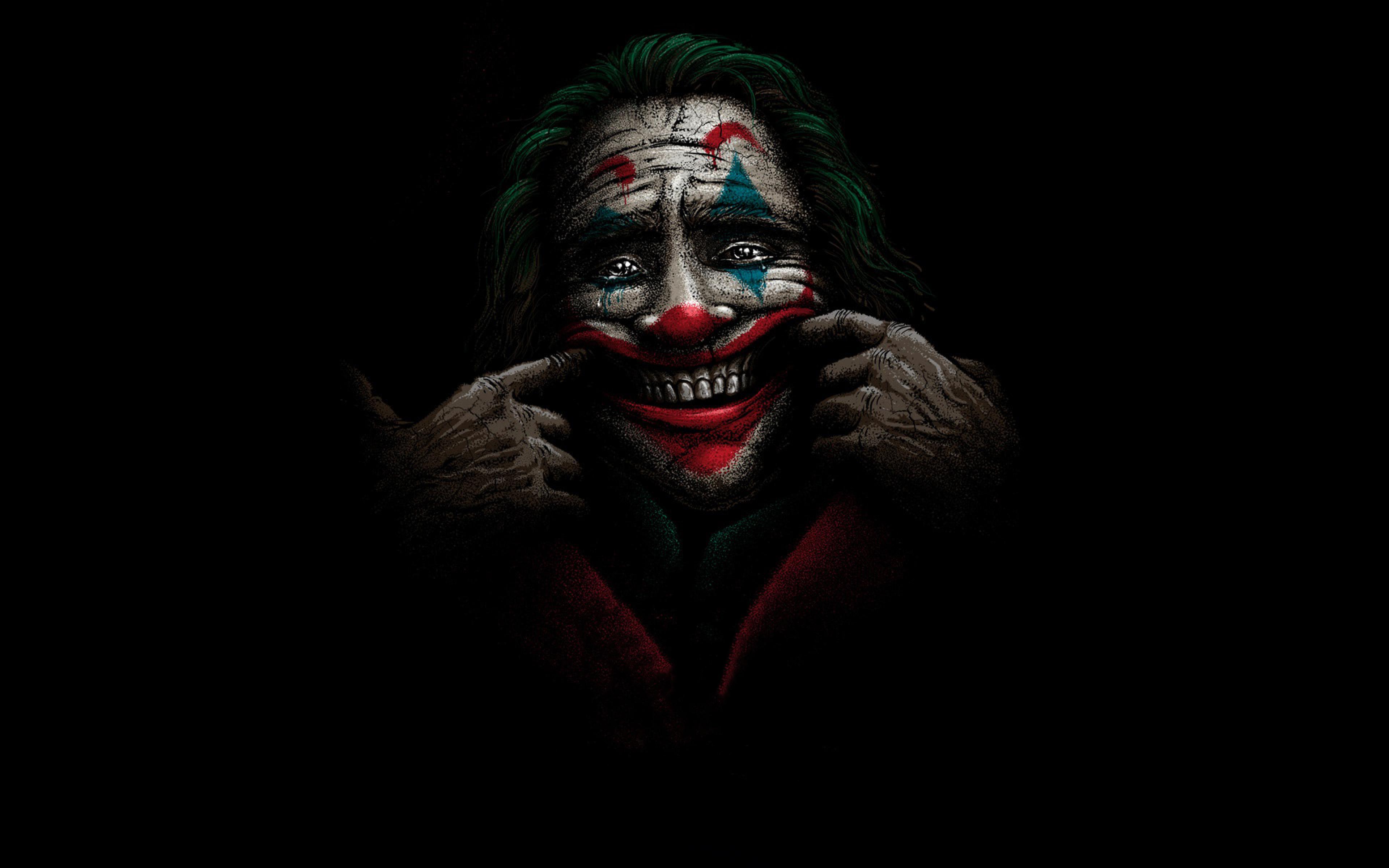3840x2400 Joker Happy Face 4K 3840x2400 Resolution ...