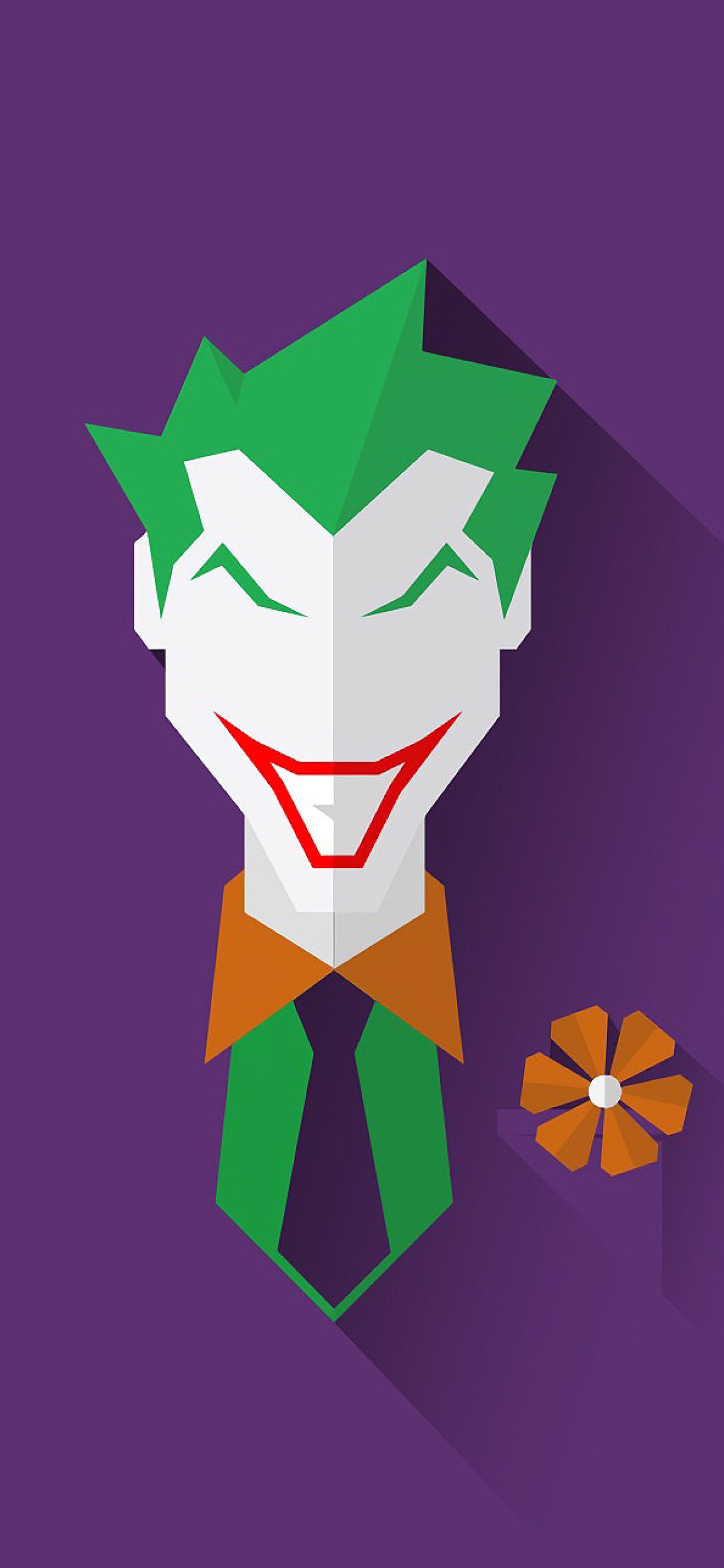 1242x2688 Joker Minimal Iphone Xs Max Wallpaper Hd