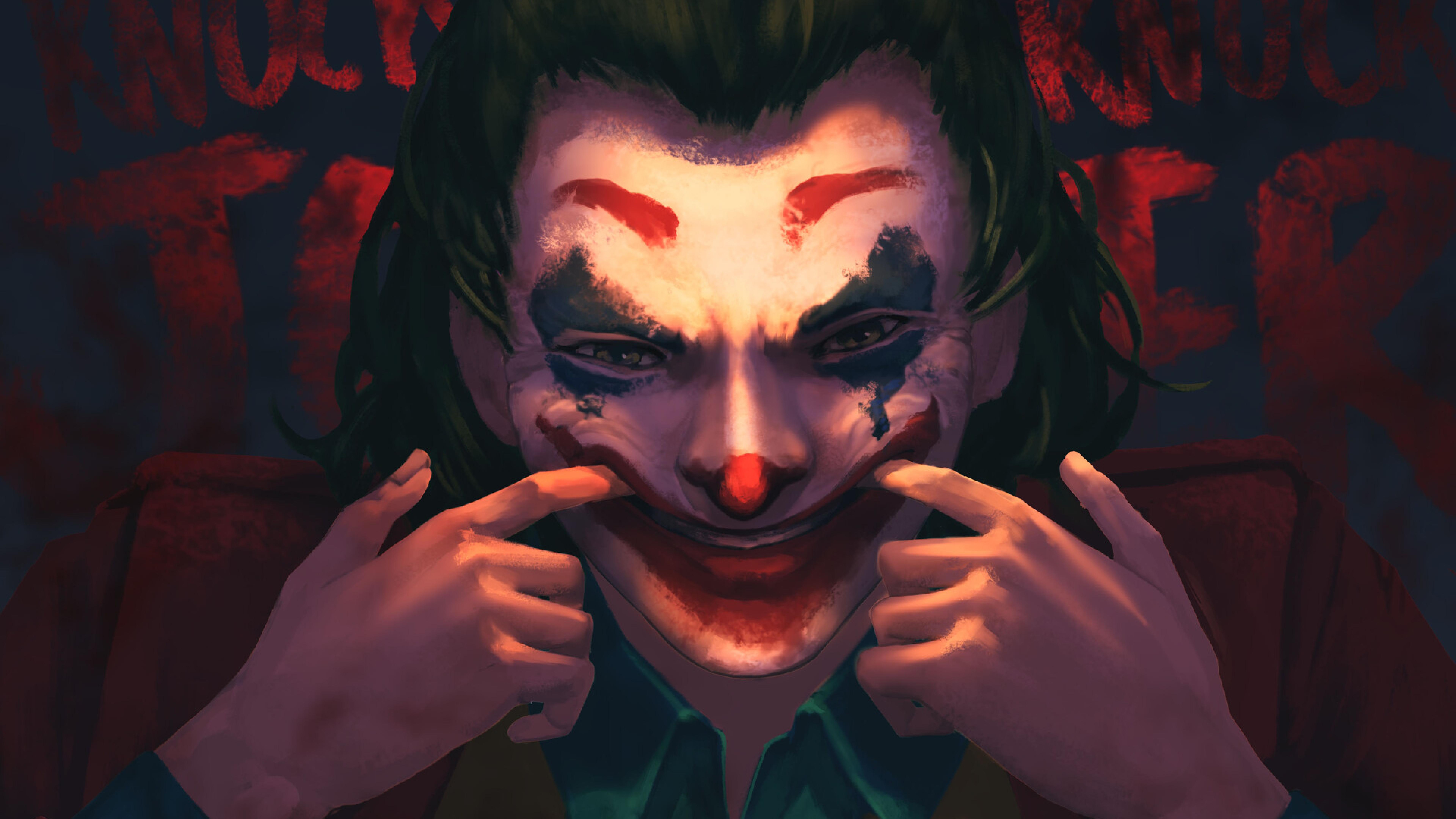7680x4320 Joker Smiling 8K Wallpaper, HD Superheroes 4K ...