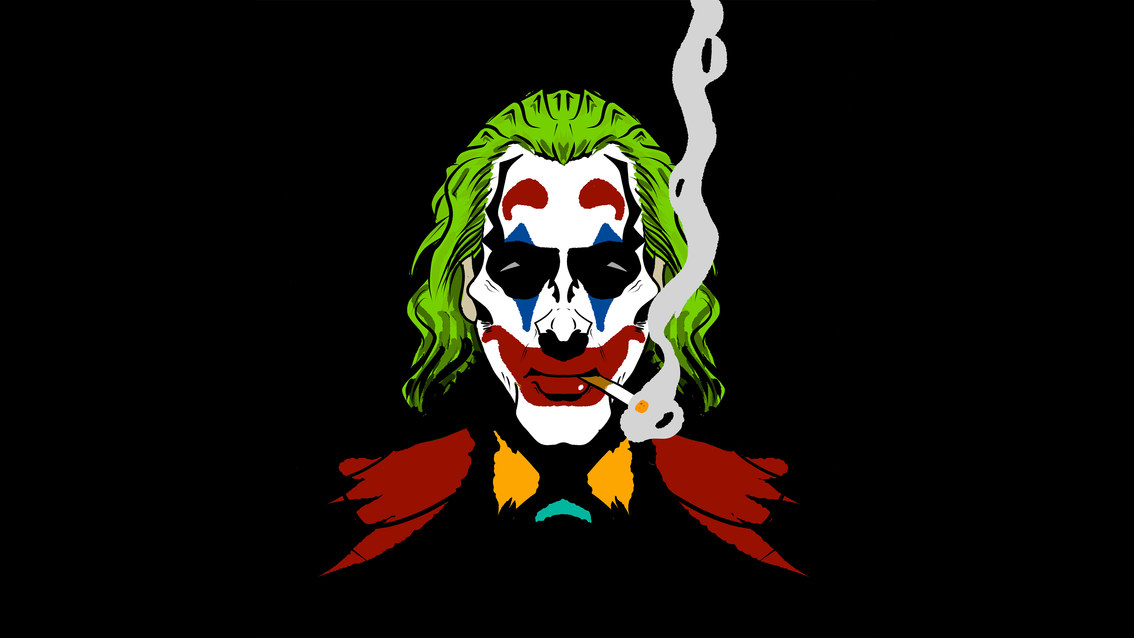 Joker Smoking Wallpaper Hd Minimalist 4k Wallpapers Images
