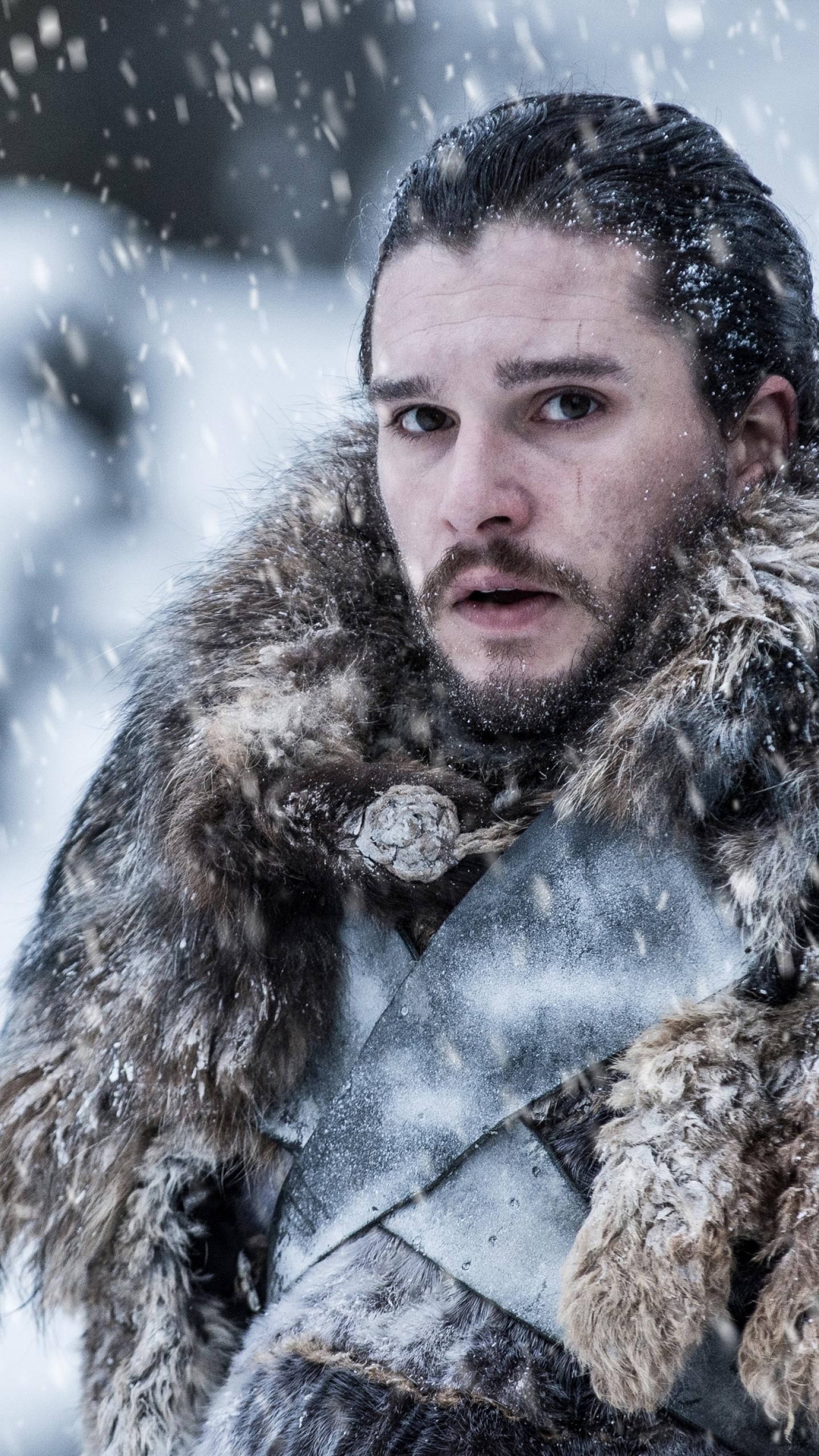 1440x2560 Jon Snow Beyond The Wall Game Of Thrones Samsung Galaxy