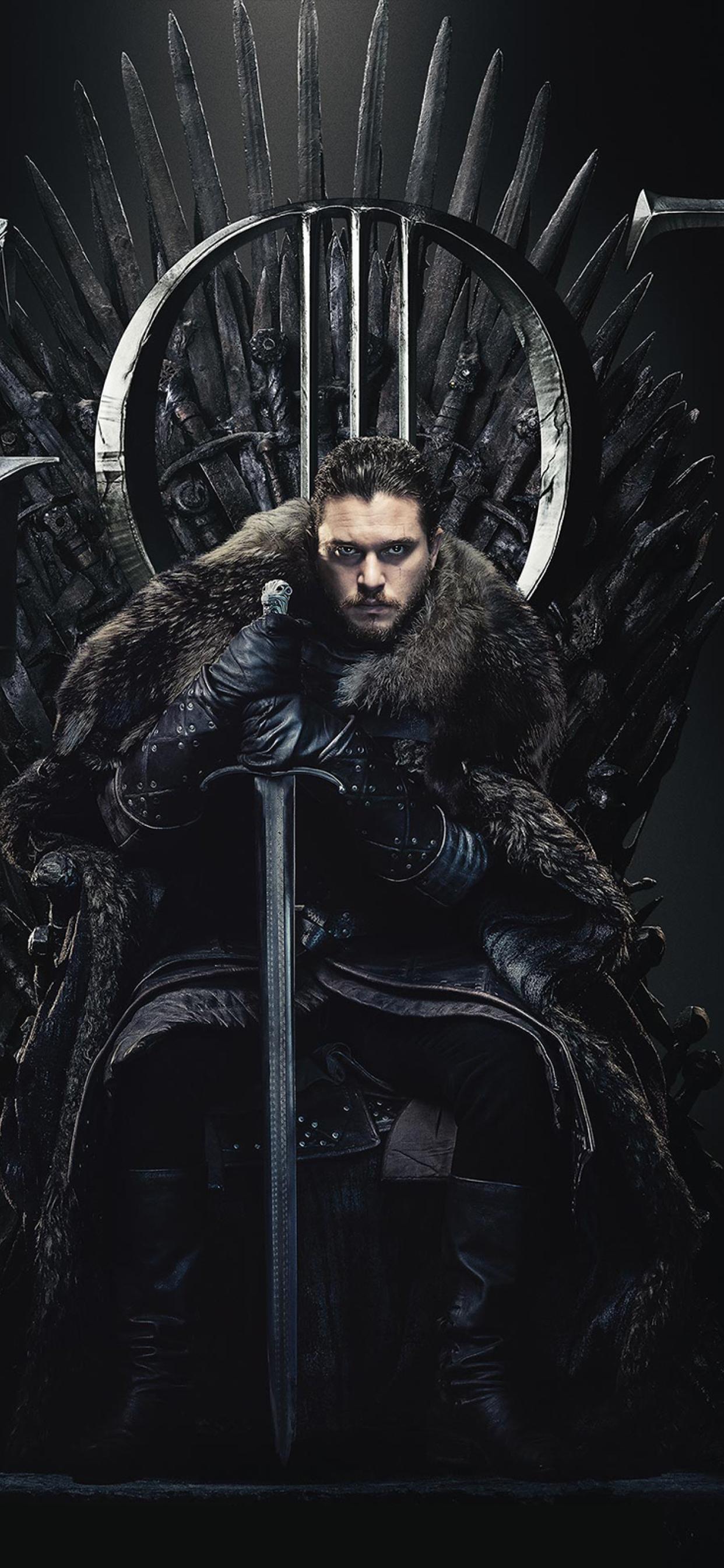 1242x2688 Jon Snow Game Of Thrones Season 8 Poster Iphone Xs