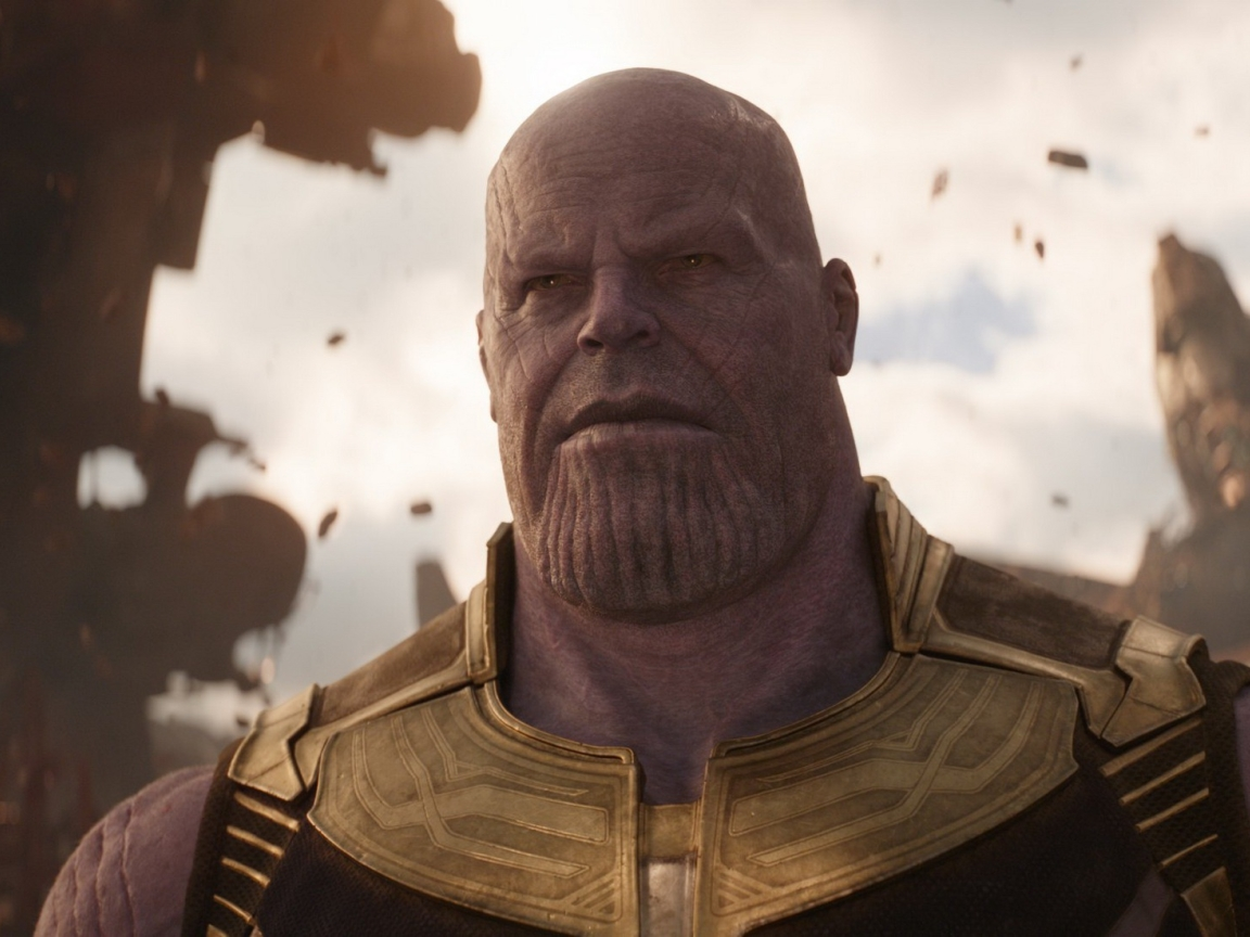 Josh Brolin As Thanos In Avengers Infinity War 2018  Full