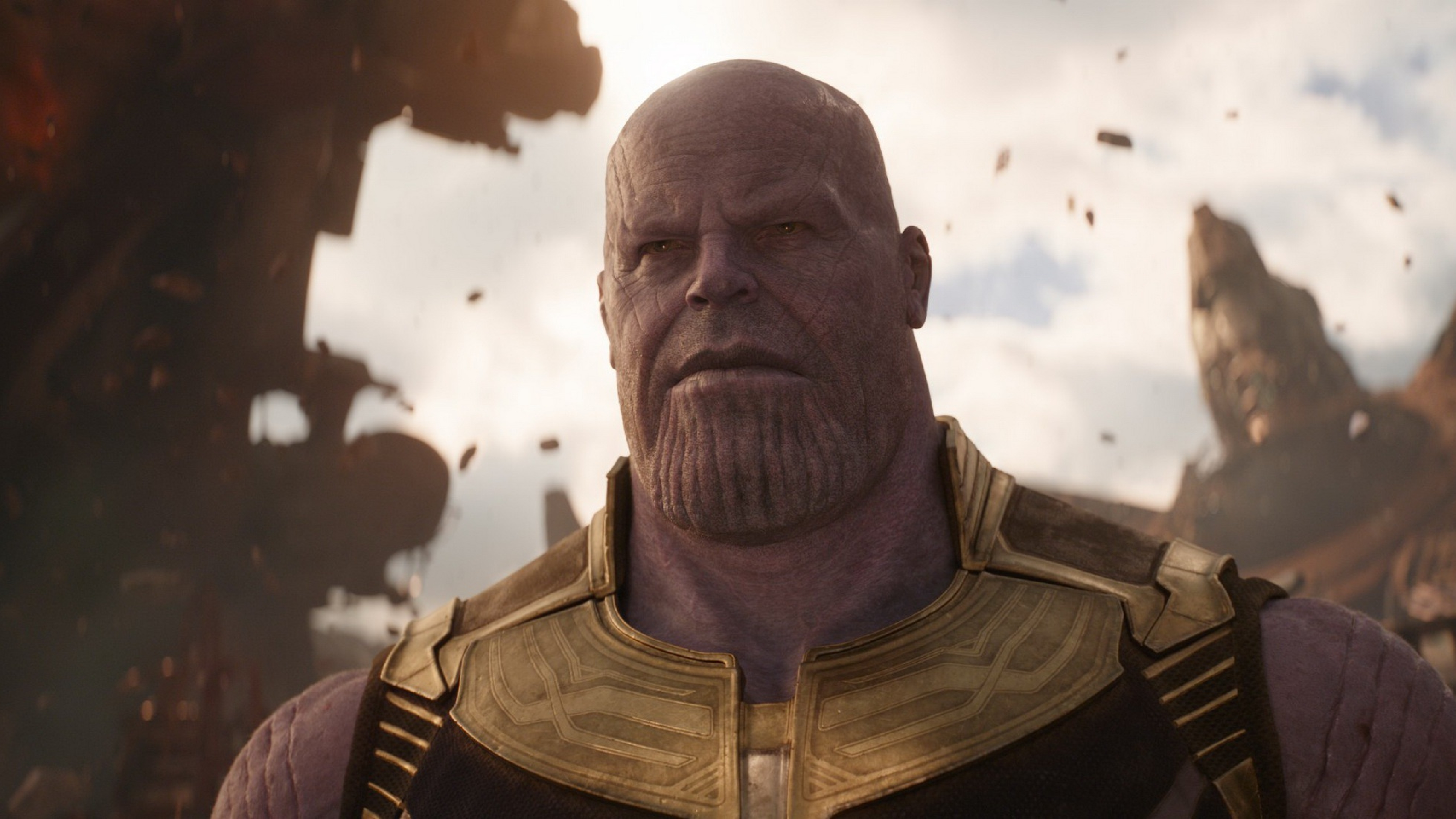 Josh Brolin As Thanos In Avengers Infinity War 2018 Full