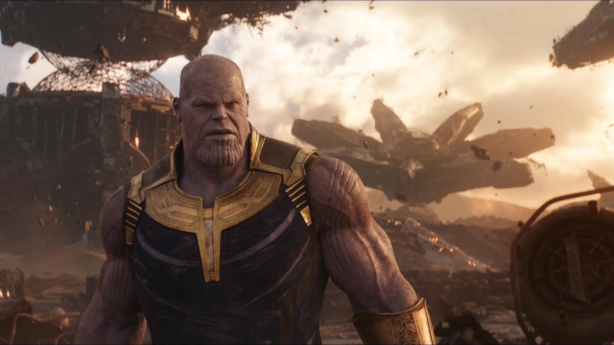 Josh Brolin As Thanos In Infinity War Full HD 2K Wallpaper