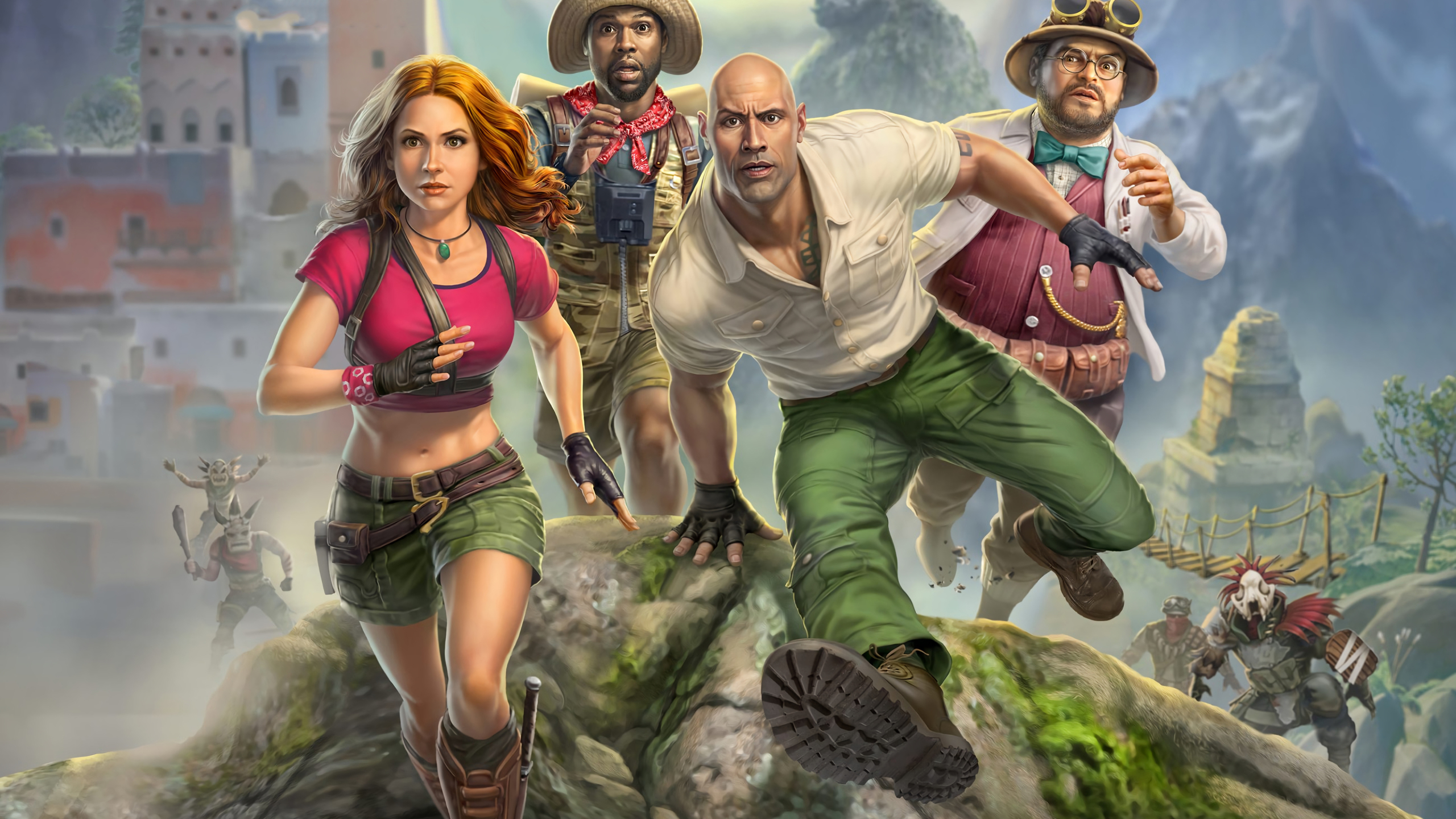 2560x1440 Jumanji The Video Game 1440p Resolution Wallpaper Hd Games 4k Wallpapers Images Photos And Background