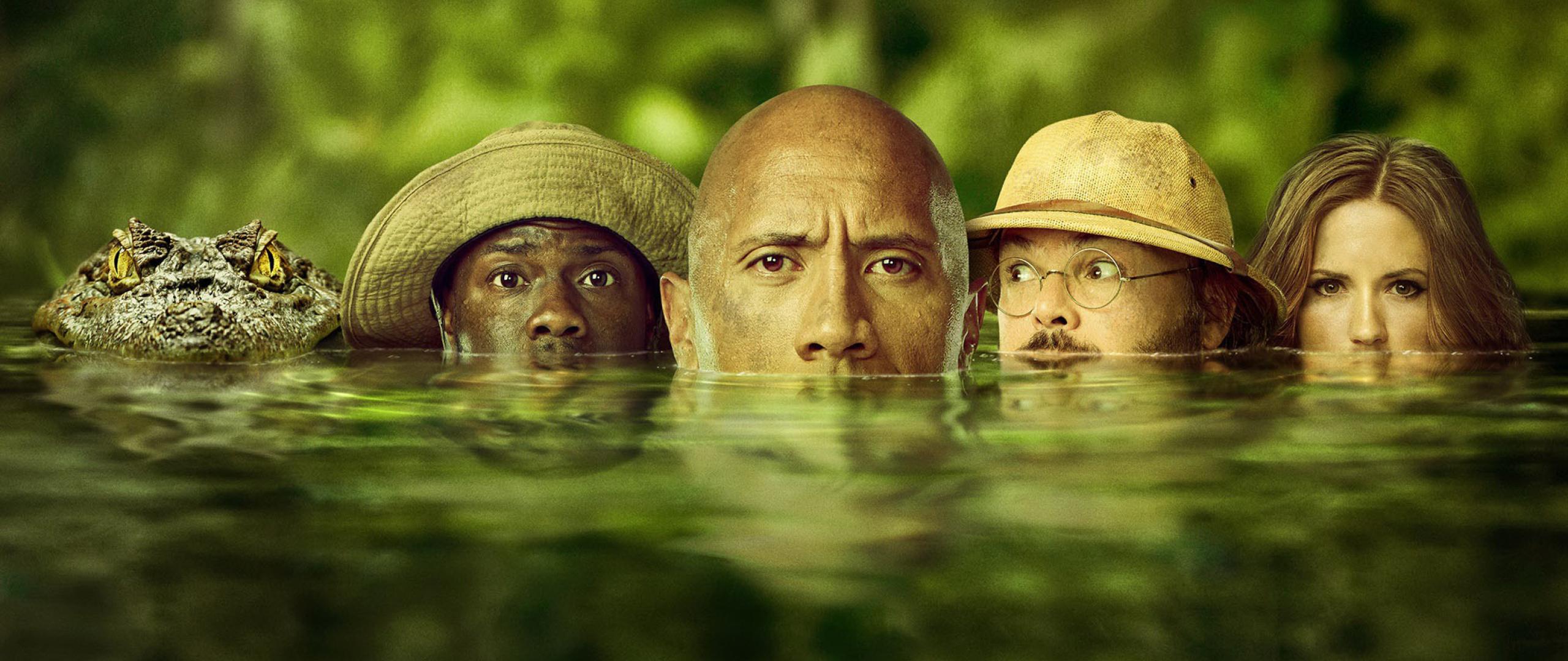 Jumanji Welcome To The Jungle 2017, Full HD 2K Wallpaper