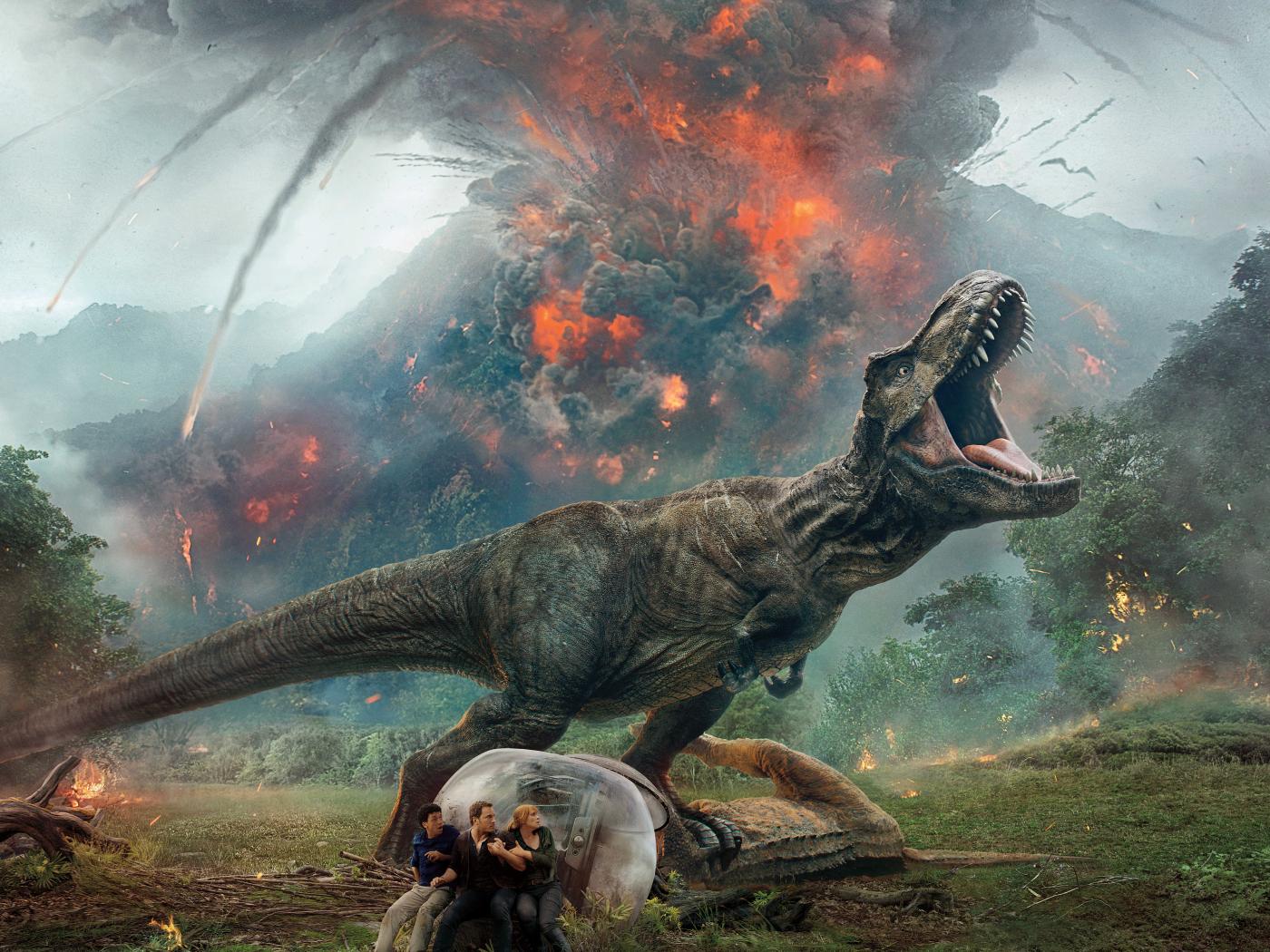 Jurassic world fallen kingdom 2018 movie poster full hd - Movie poster wallpaper ...