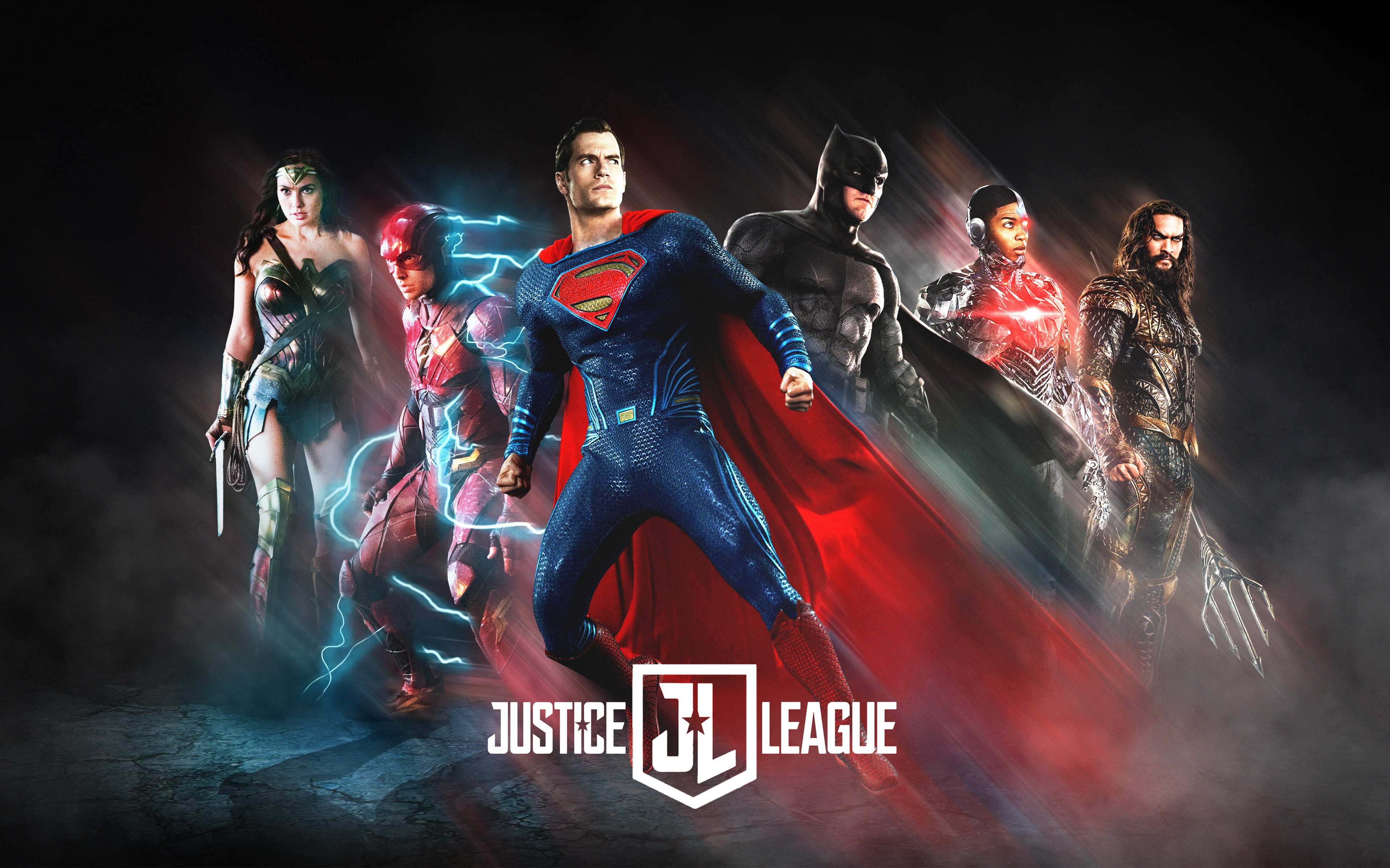 justice league 2017 poster fan art hd 4k wallpaper