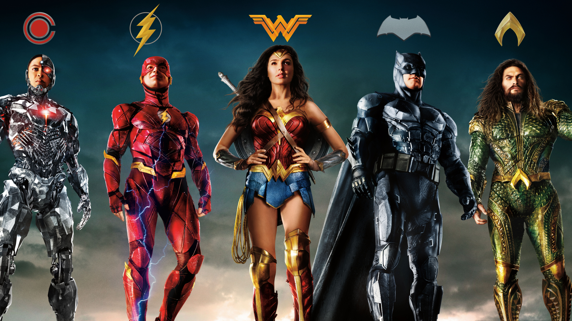 1920x1080 Justice League 2017 Superheroes Poster 1080p Laptop Full