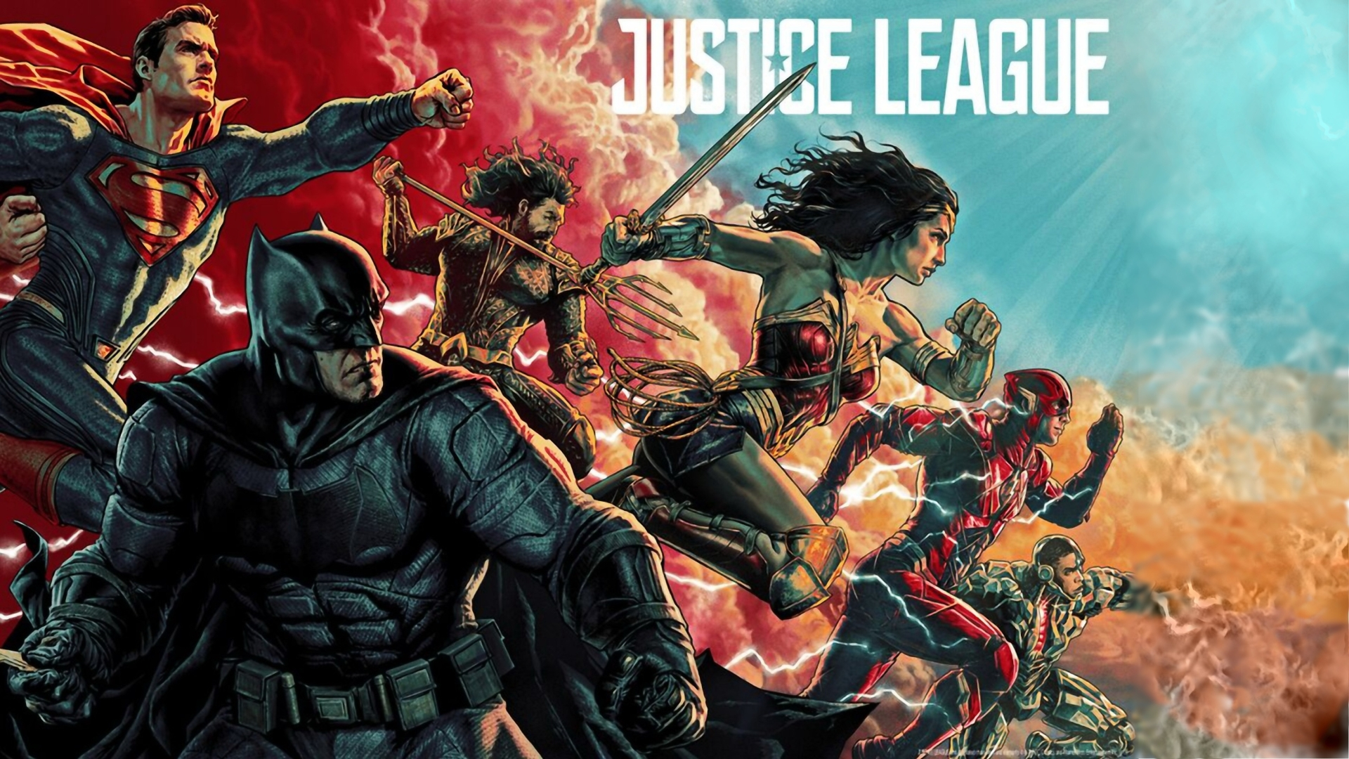 1920x1080 Justice League Comic Art Poster 1080p Laptop Full