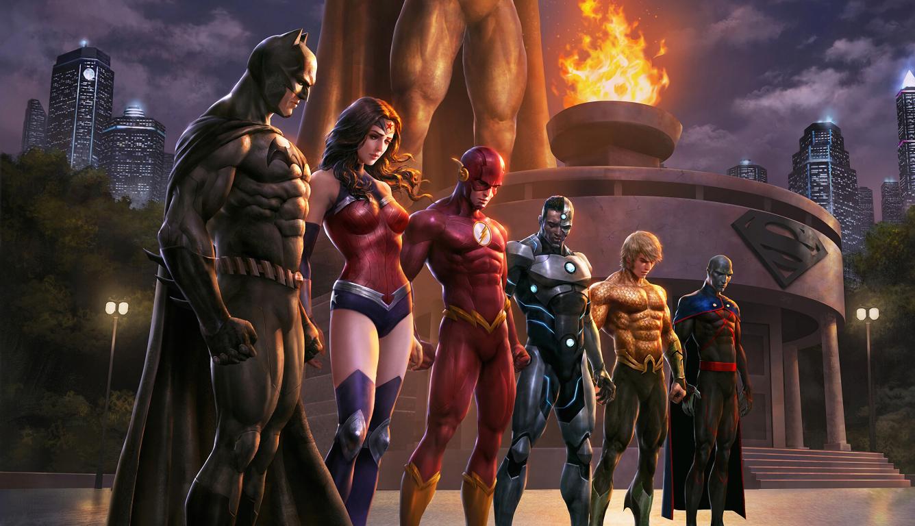 1336x768 Justice League Comic HD Laptop Wallpaper, HD ...