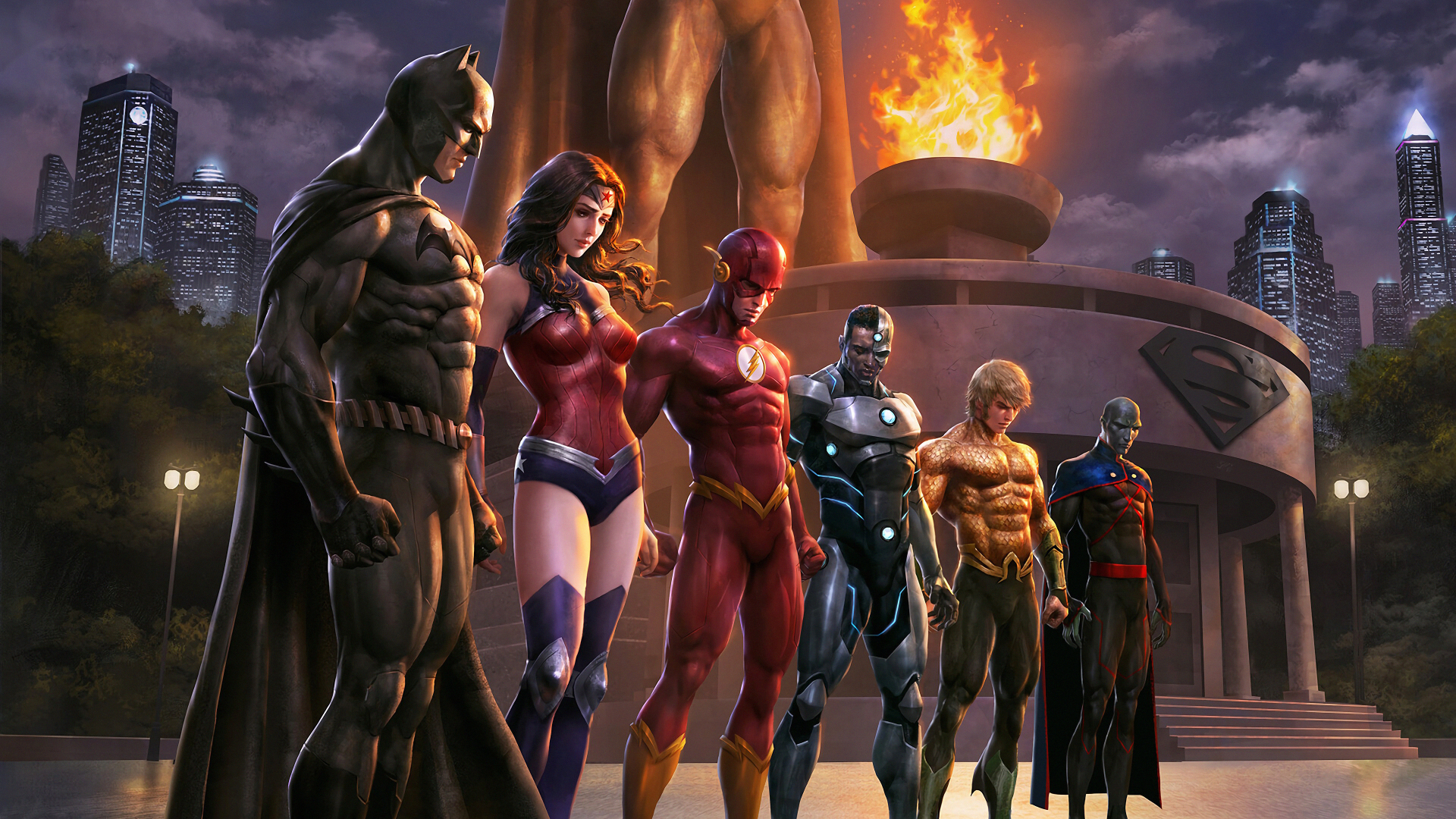 1920x1080 Justice League Comic 1080P Laptop Full HD ...