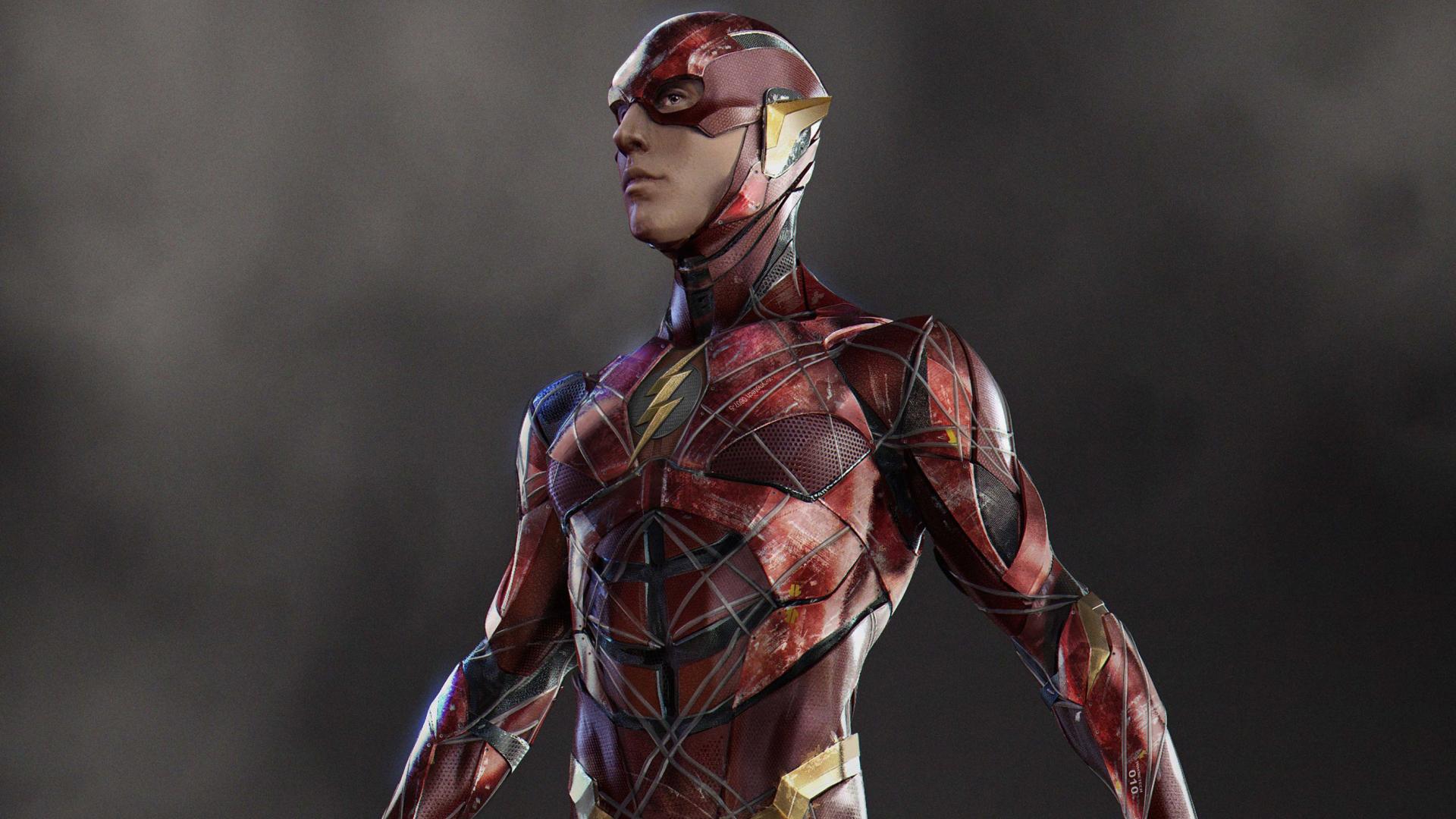 Justice league flash concept art full hd 2k wallpaper - Flash wallpaper hd 1080p ...