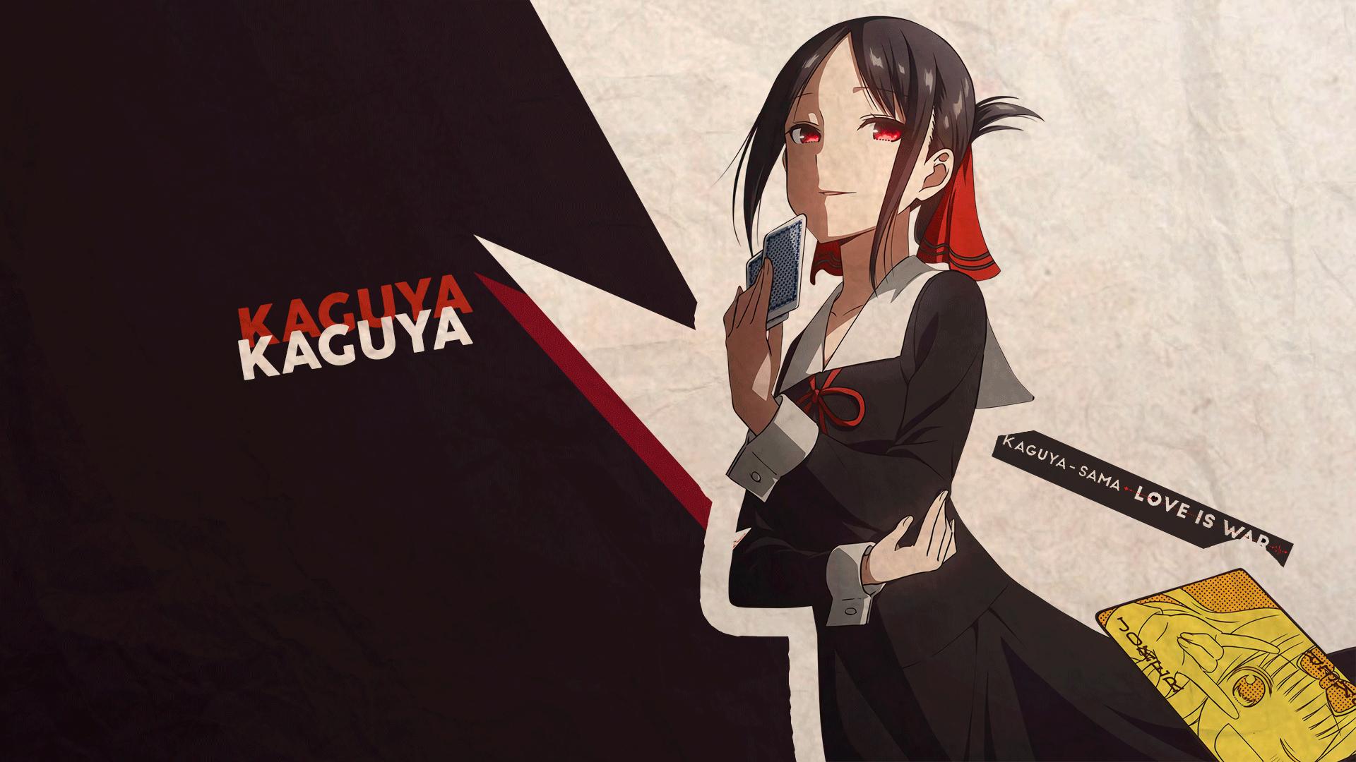 1360x768 Kaguya Shinomiya Love Is War Desktop Laptop Hd Wallpaper