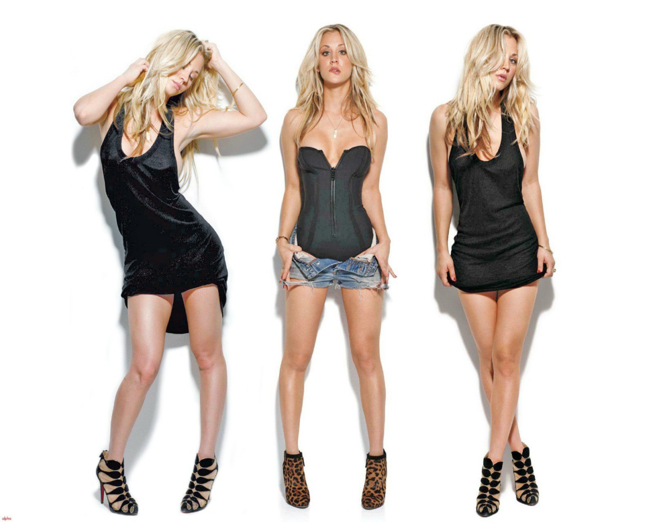kaley cuoco hot photoshoot, hd wallpaper