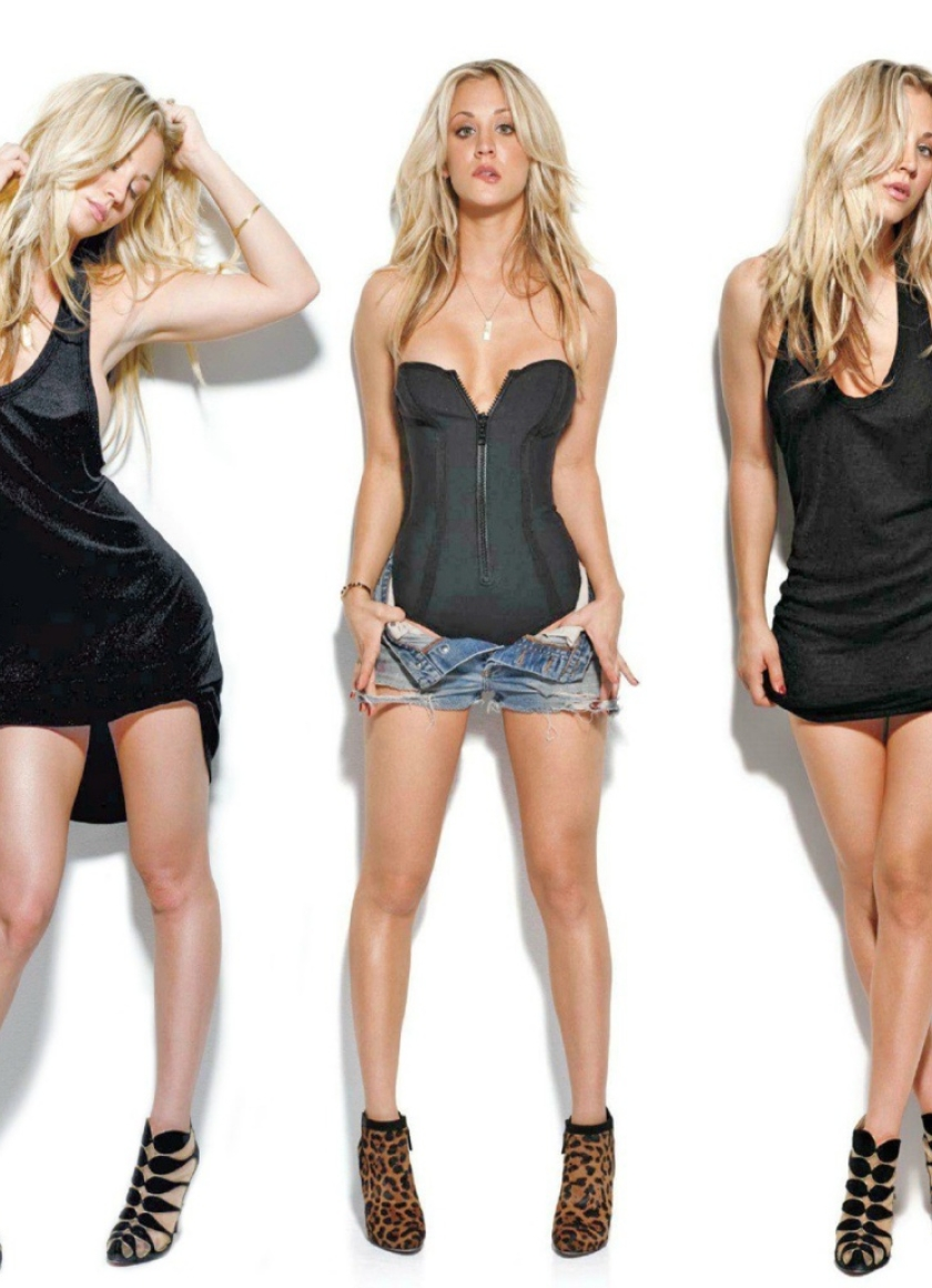 Opinion kaley cuoco very hot with you