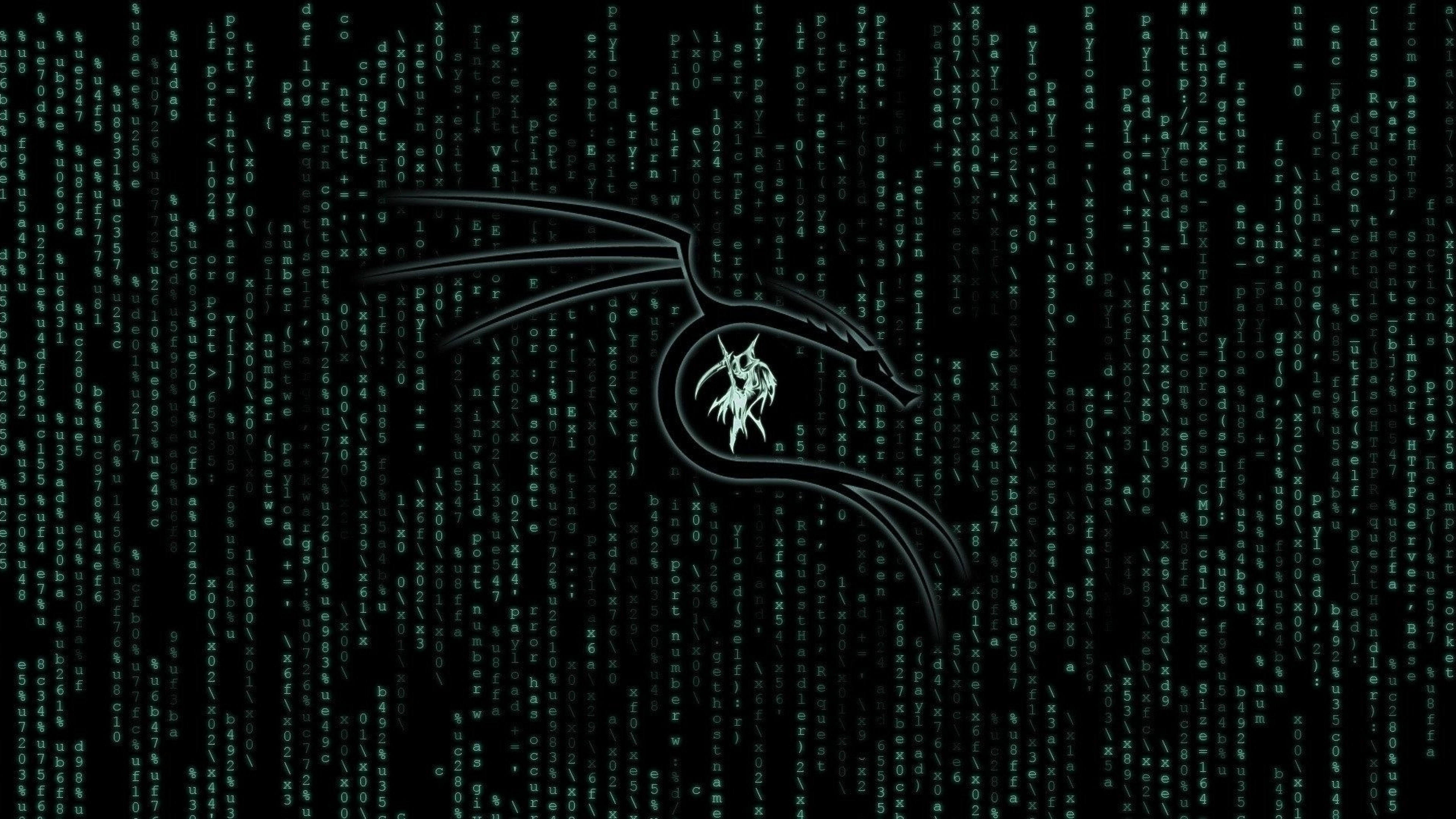 3840x2160 Kali Linux Matrix 4k Wallpaper Hd Hi Tech 4k