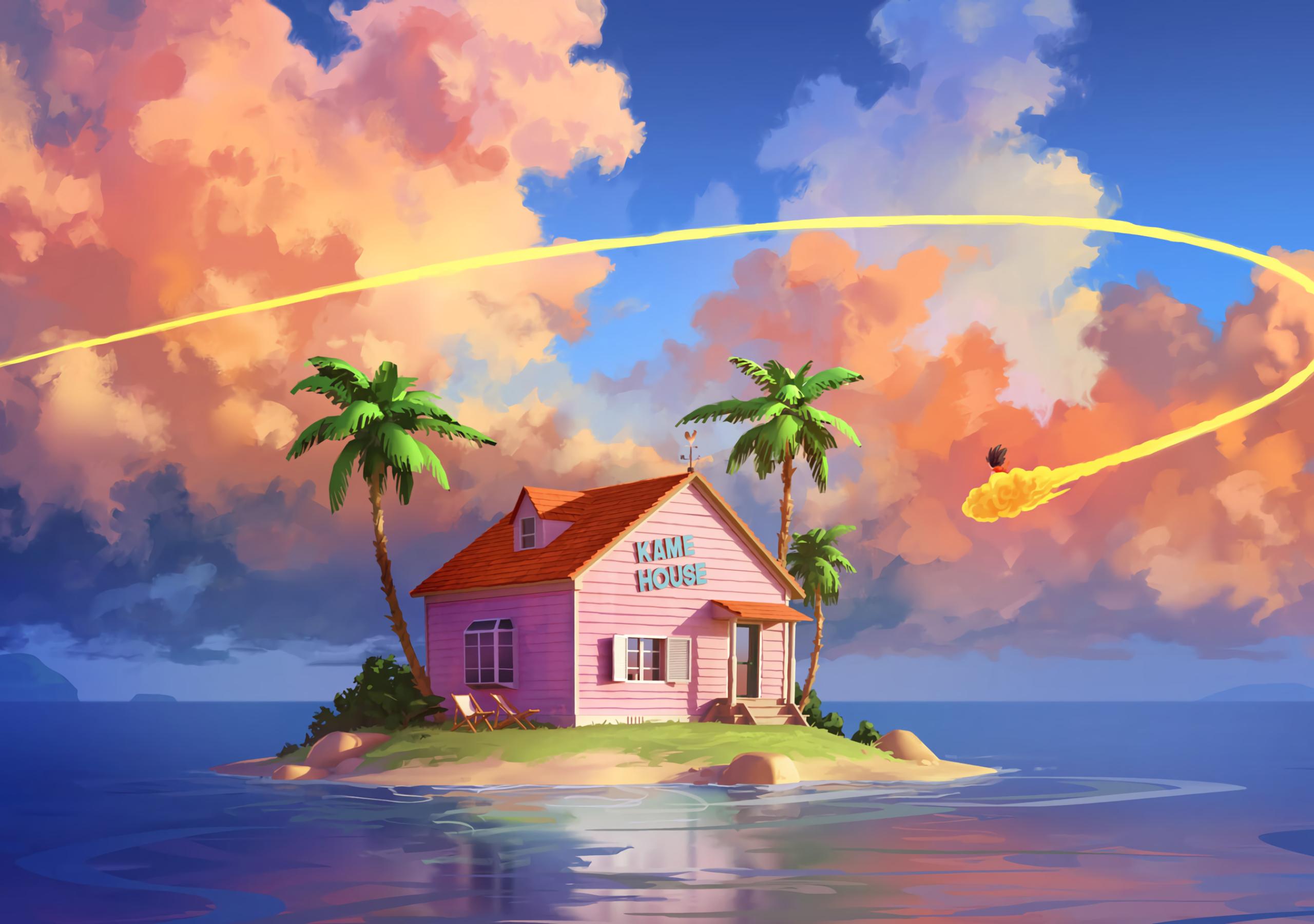 2560x1800 Kame House Dragon Ball Z 2560x1800 Resolution ...