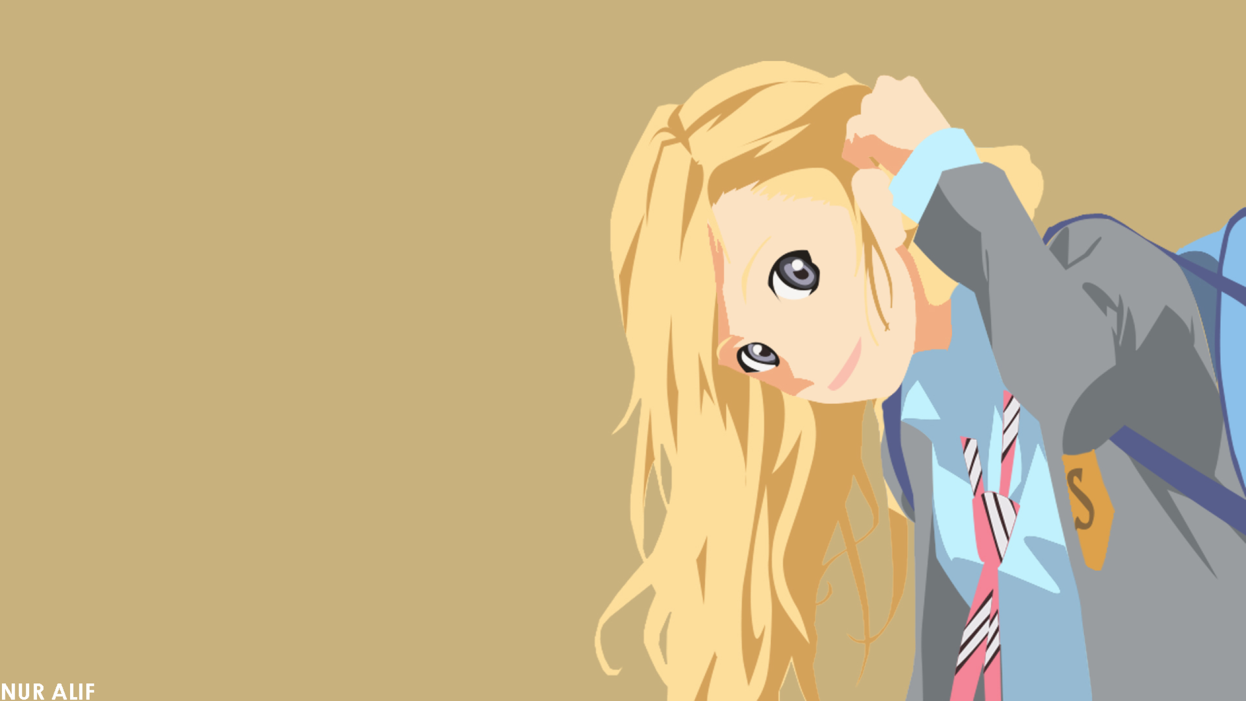 2560x1440 Kaori Miyazono 1440p Resolution Wallpaper Hd Anime 4k