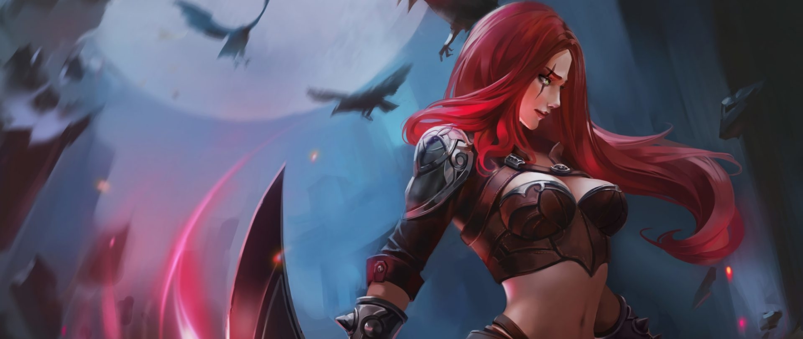2560x1080 Katarina In League Of Legends 2560x1080 Resolution