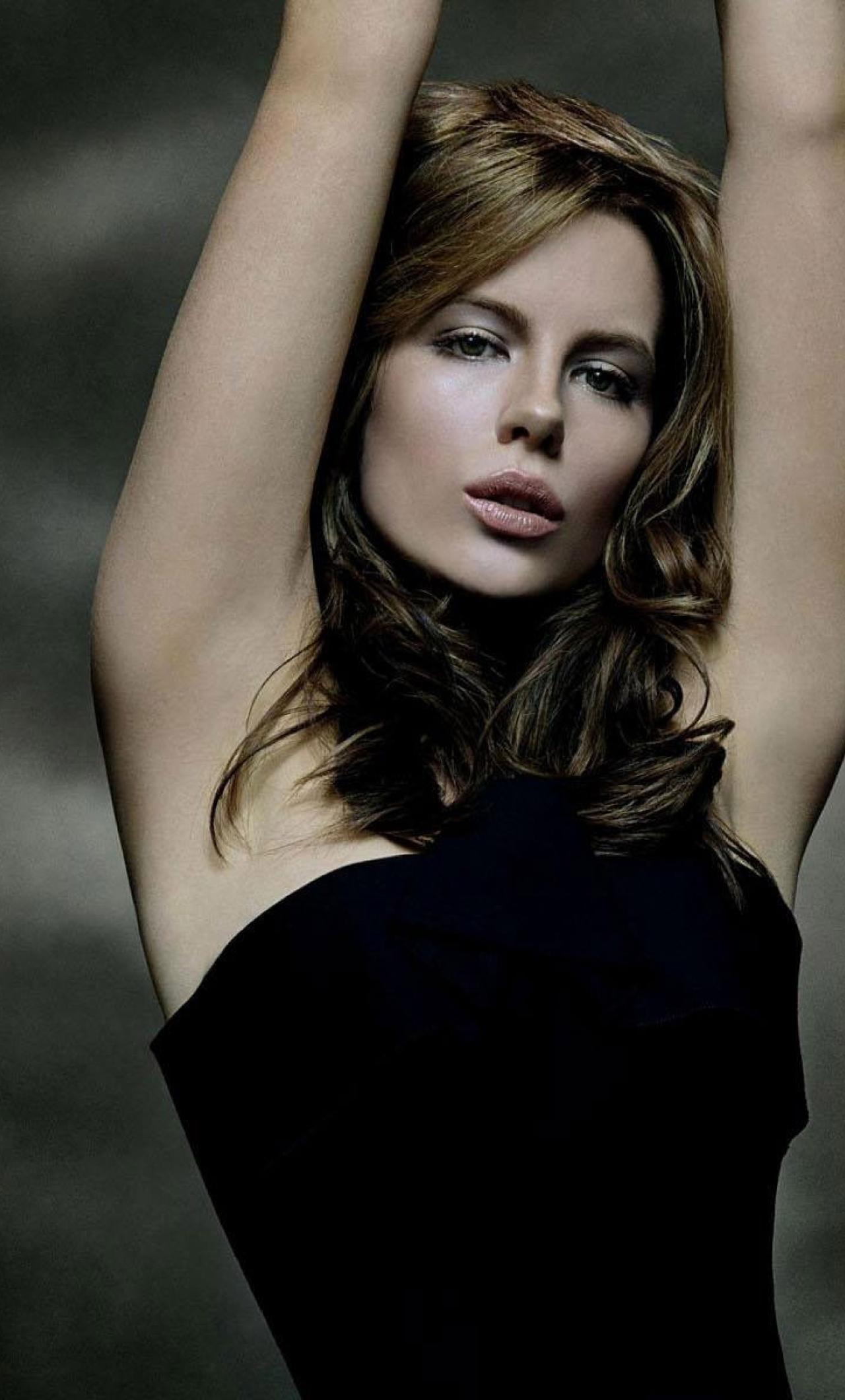kate beckinsale in gorgeous black dress photoshoot full
