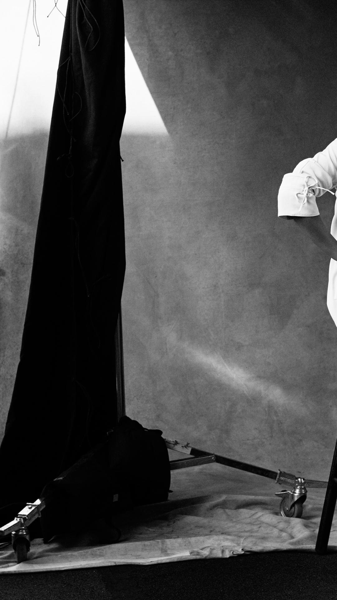 Kate Upton Black And White Photoshoot Hd 4k Wallpaper