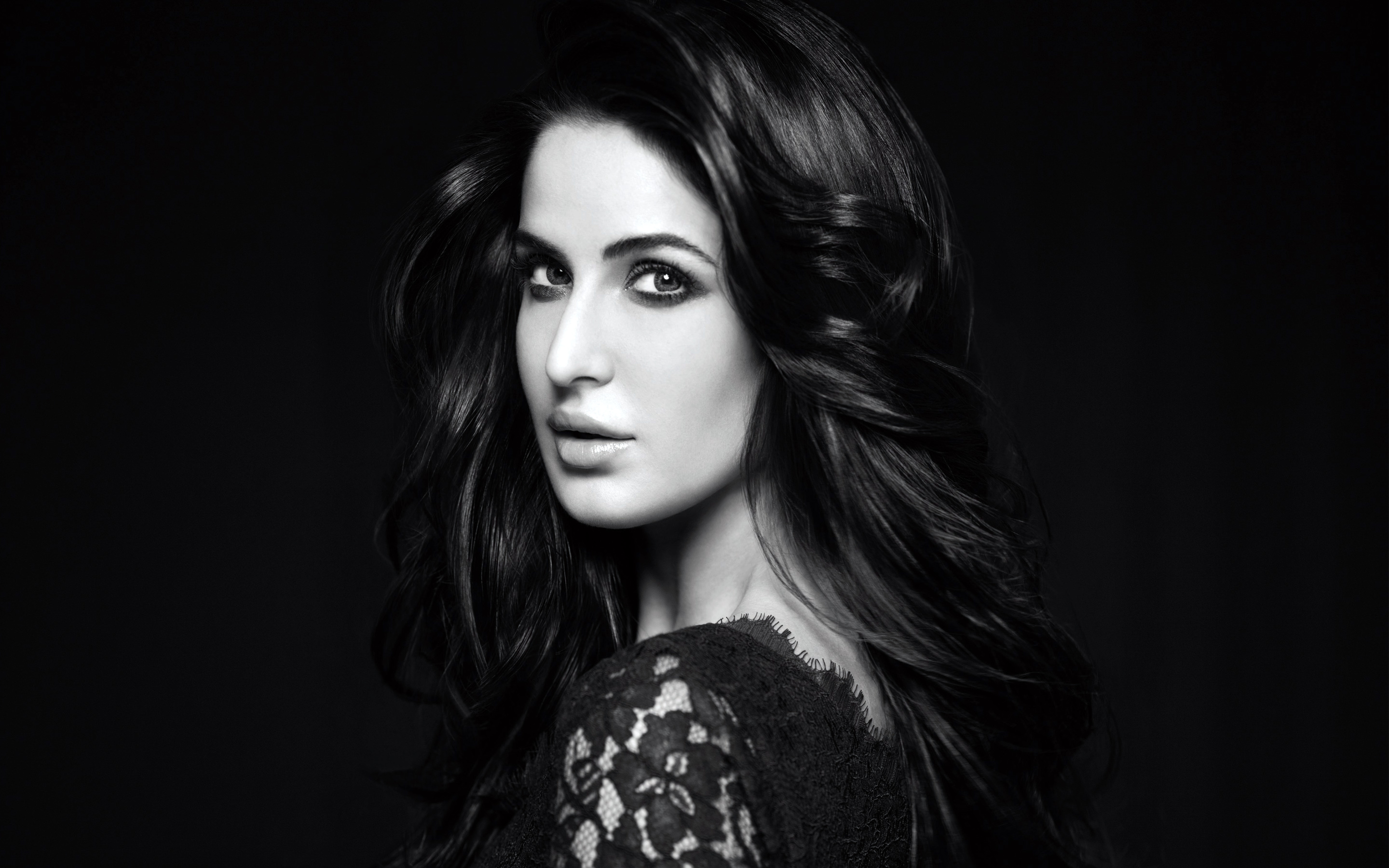 1080x1920 Katrina Kaif Black And White Wallpapers Iphone 7