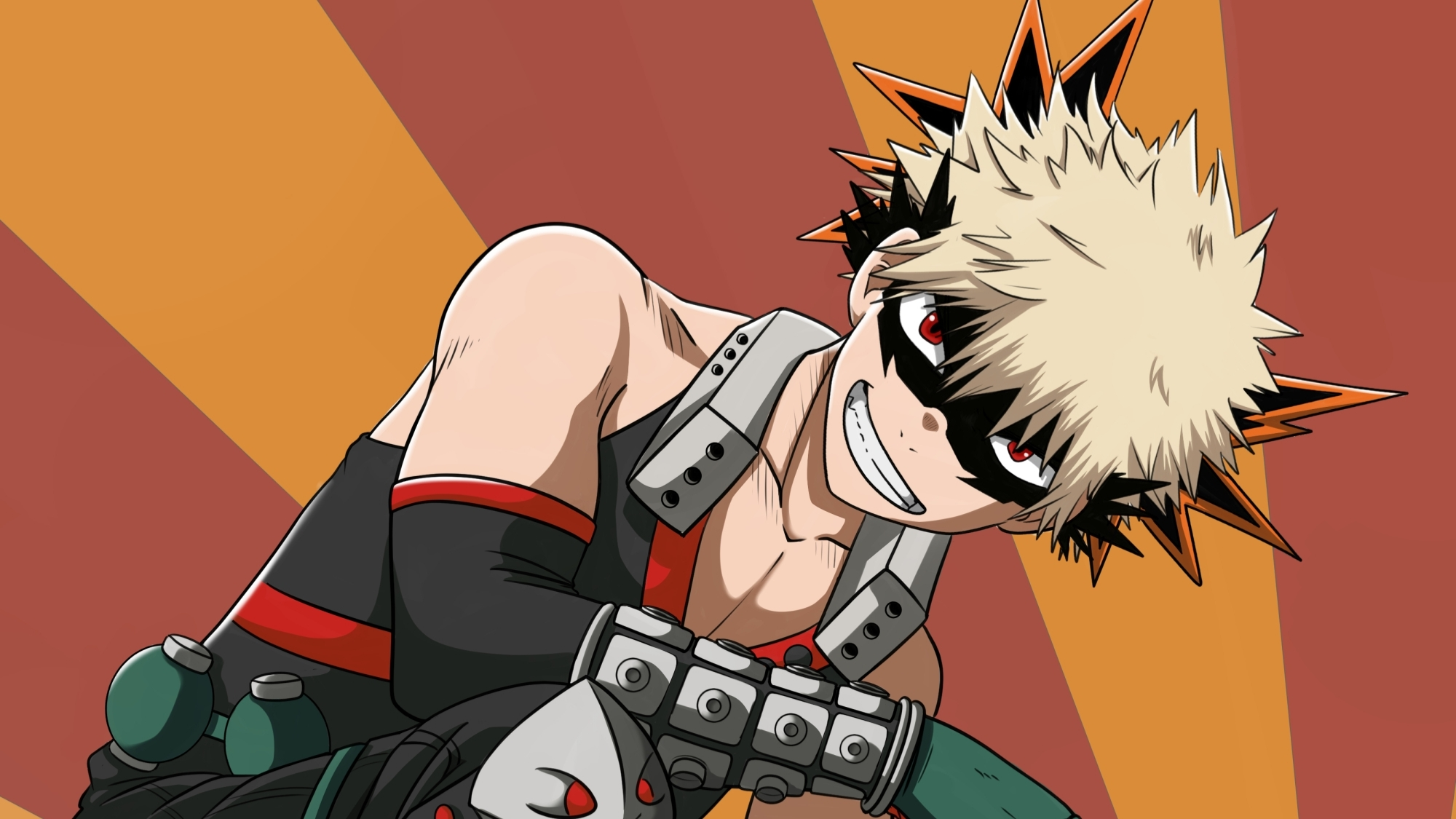Katsuki Bakugou From My Hero Academia Wallpaper Hd Anime 4k