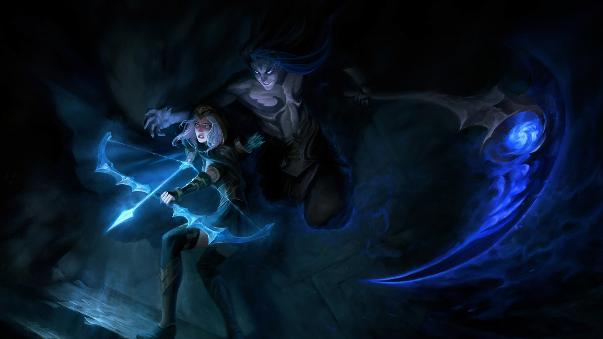 Kayn And Ashe League Of Legends Wallpaper Hd Games 4k