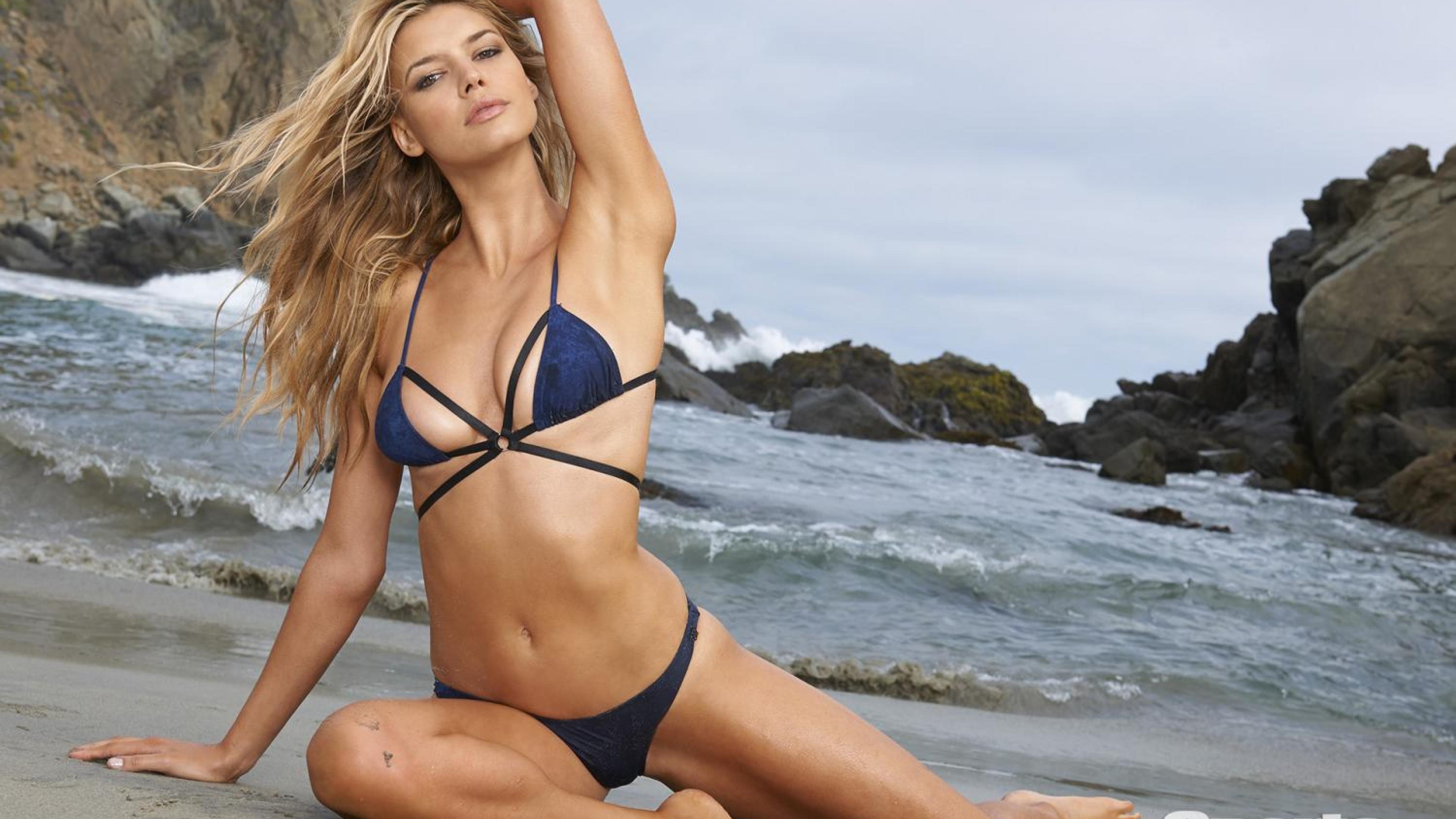 Kelly rohrbach in blue bikini hd wallpaper - Hd bikini wallpaper download ...