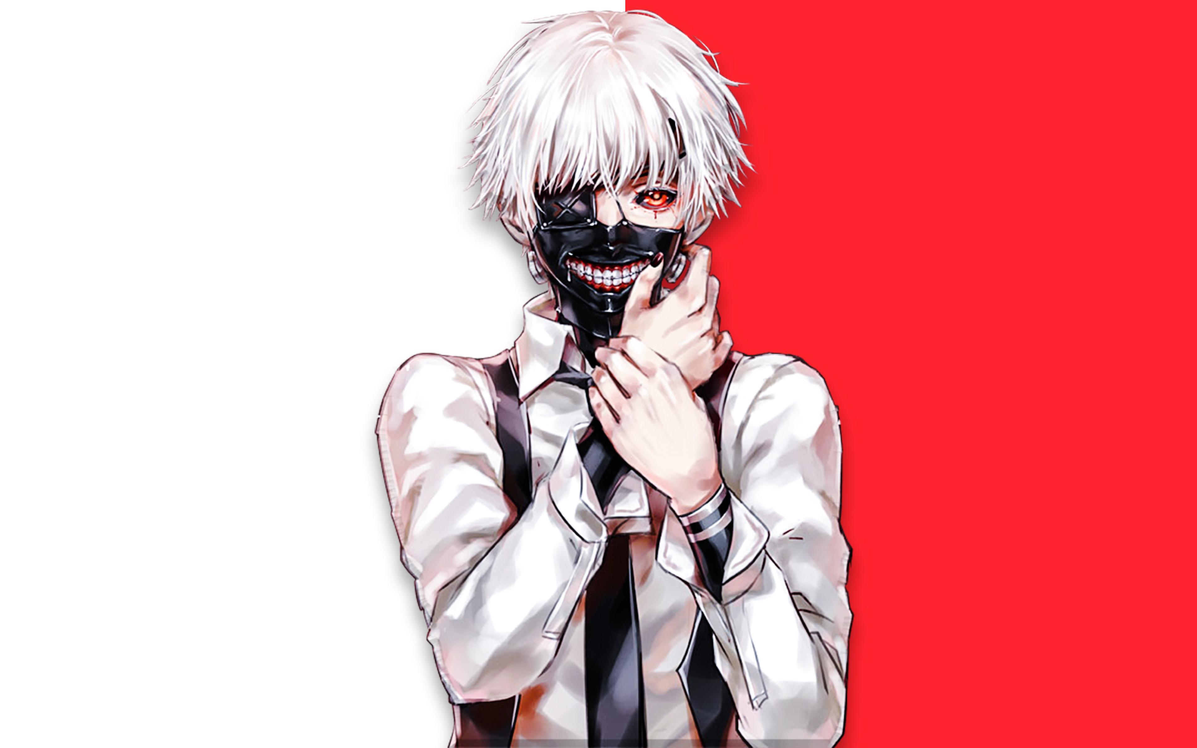 3840x2400 Ken Kaneki Tokyo Ghoul Art UHD 4K 3840x2400 ...