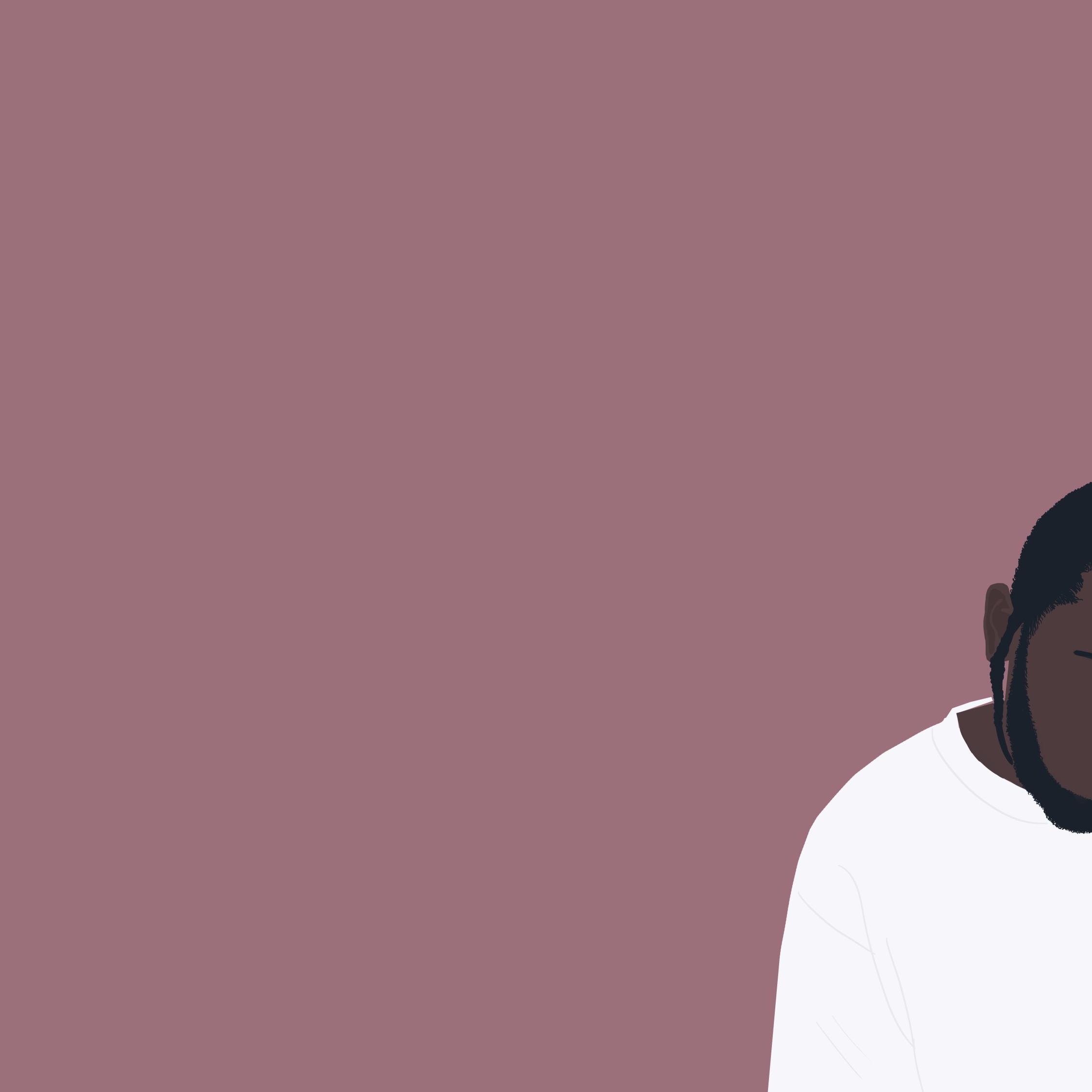 Kendrick Lamar Minimal, HD 8K Wallpaper